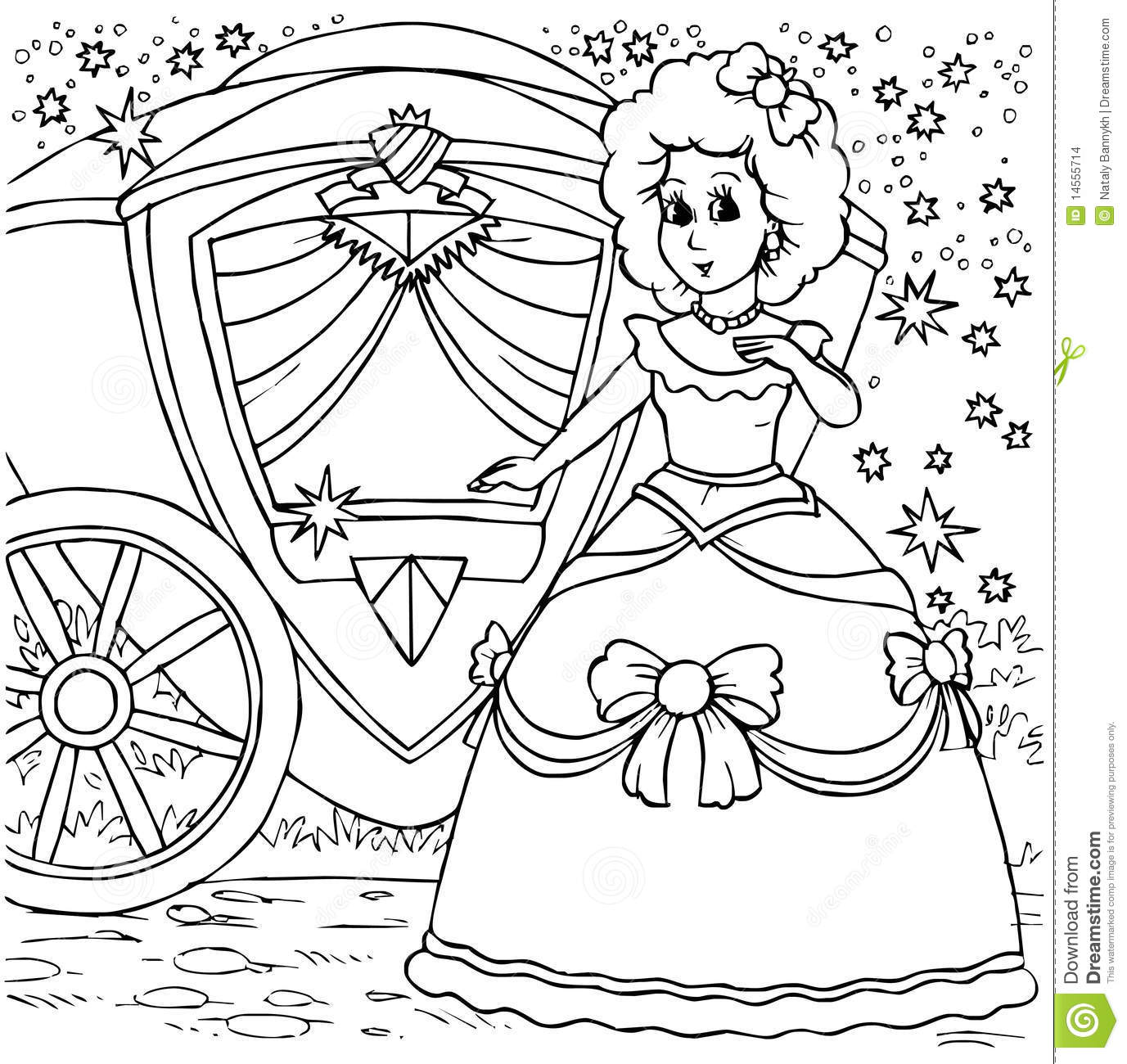 Cinderella Before A Ball Stock Images - Image: 14555714