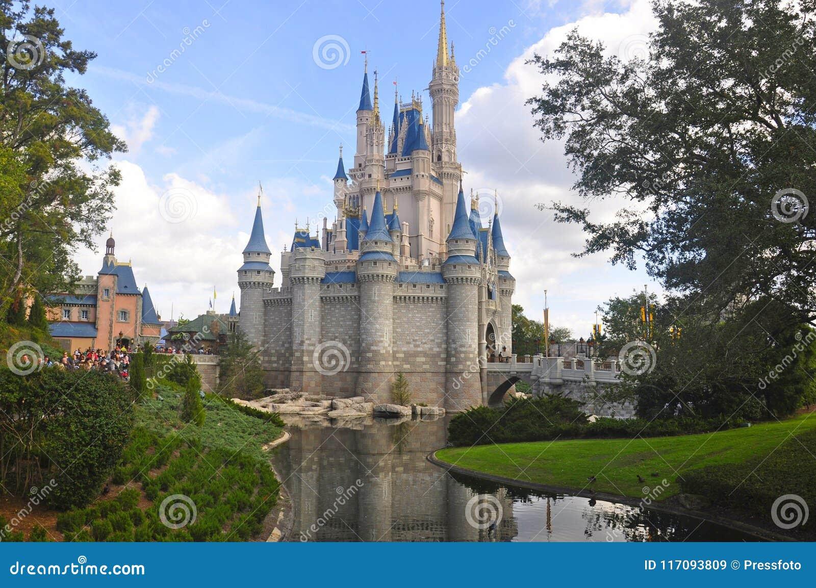 Cinderella Castle at Magic Kingdom park, Walt Disney World Resort Orlando, Florida, USA