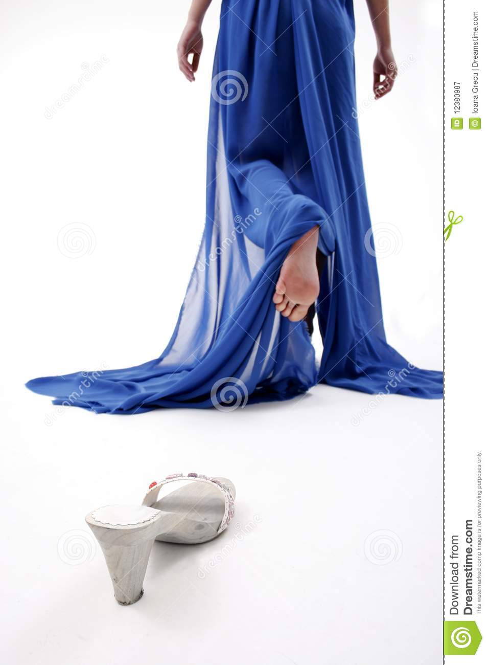 Cinderella Lost Shoe Stock Image Image Of Charming Fairytale