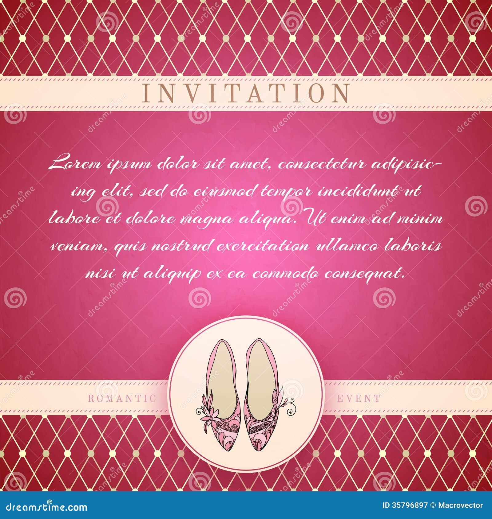retro princess invitation template stock photo image 35457630 cinderella princess invitation template royalty stock photography
