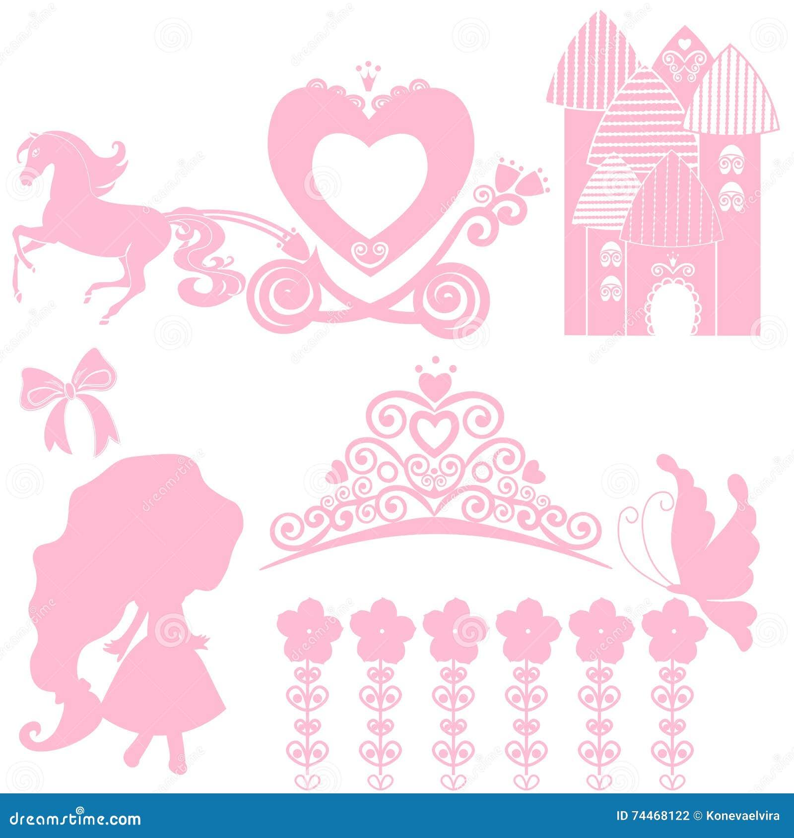 Elegant vector crown or tiara cartoon vector for Small princess