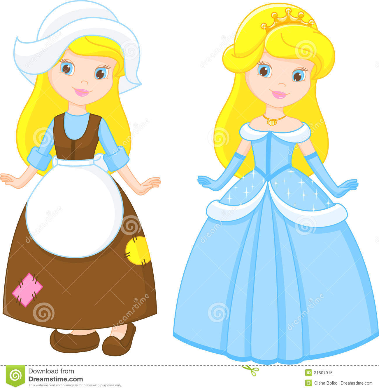 Cinderella Stock Vector Illustration Of Queen Cute