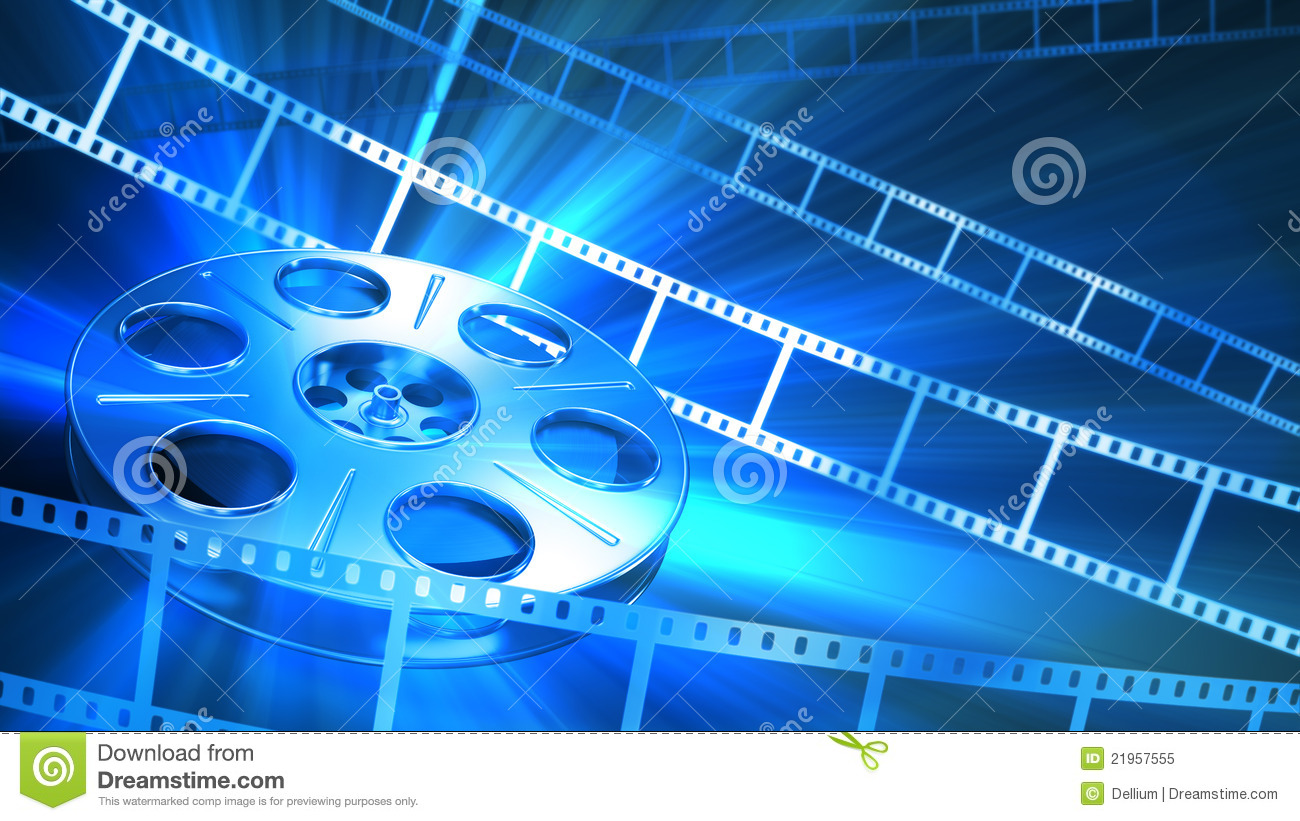 Cinema Background Royalty Free Stock Photo - Image: 21957555