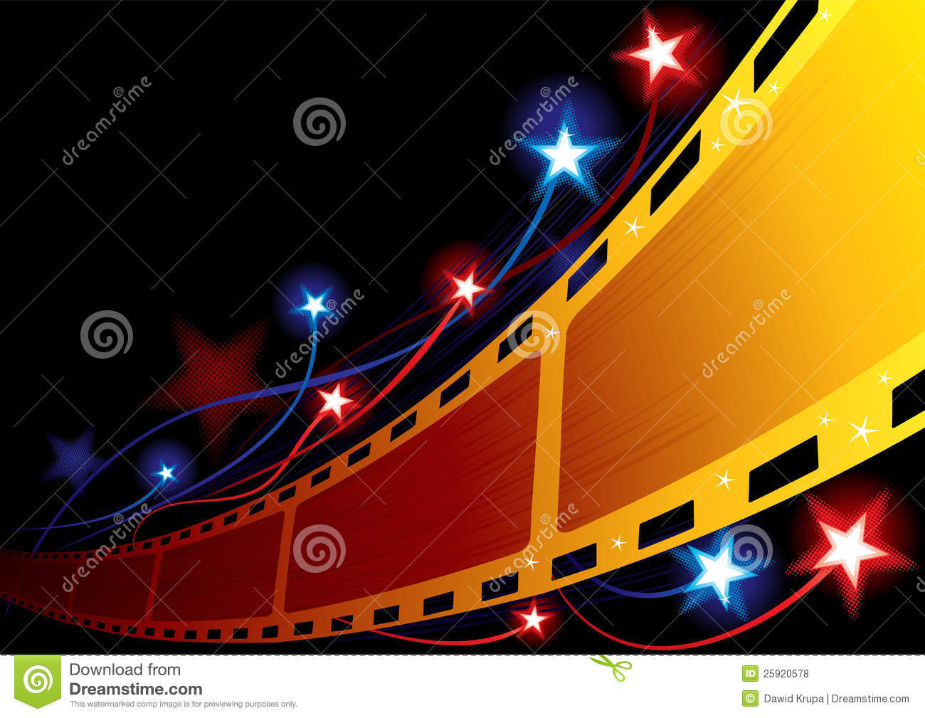 Cinema Background Royalty Free Stock Photos - Image: 25920578
