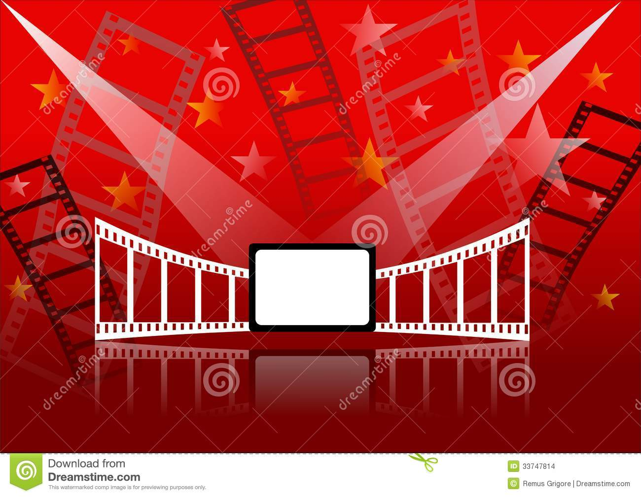 Cinema Background Stock Images - Image: 33747814