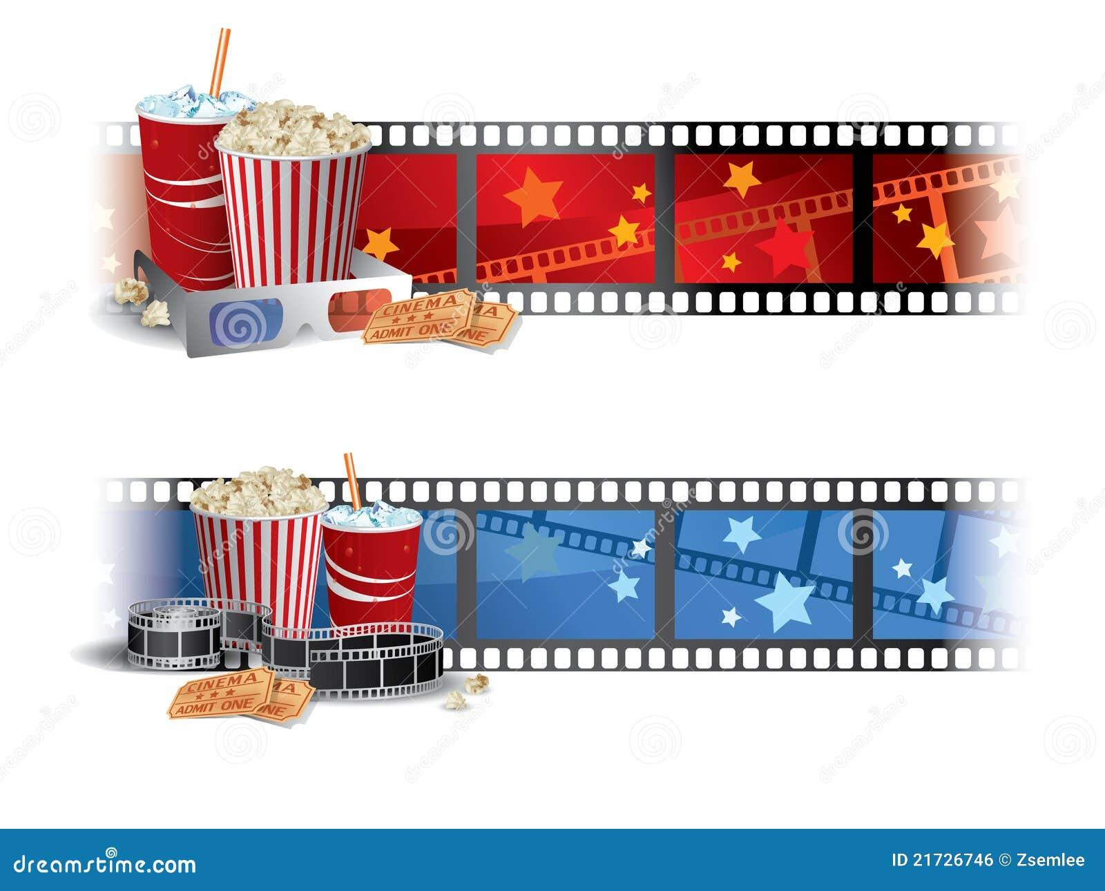 Movie Banner Clipart