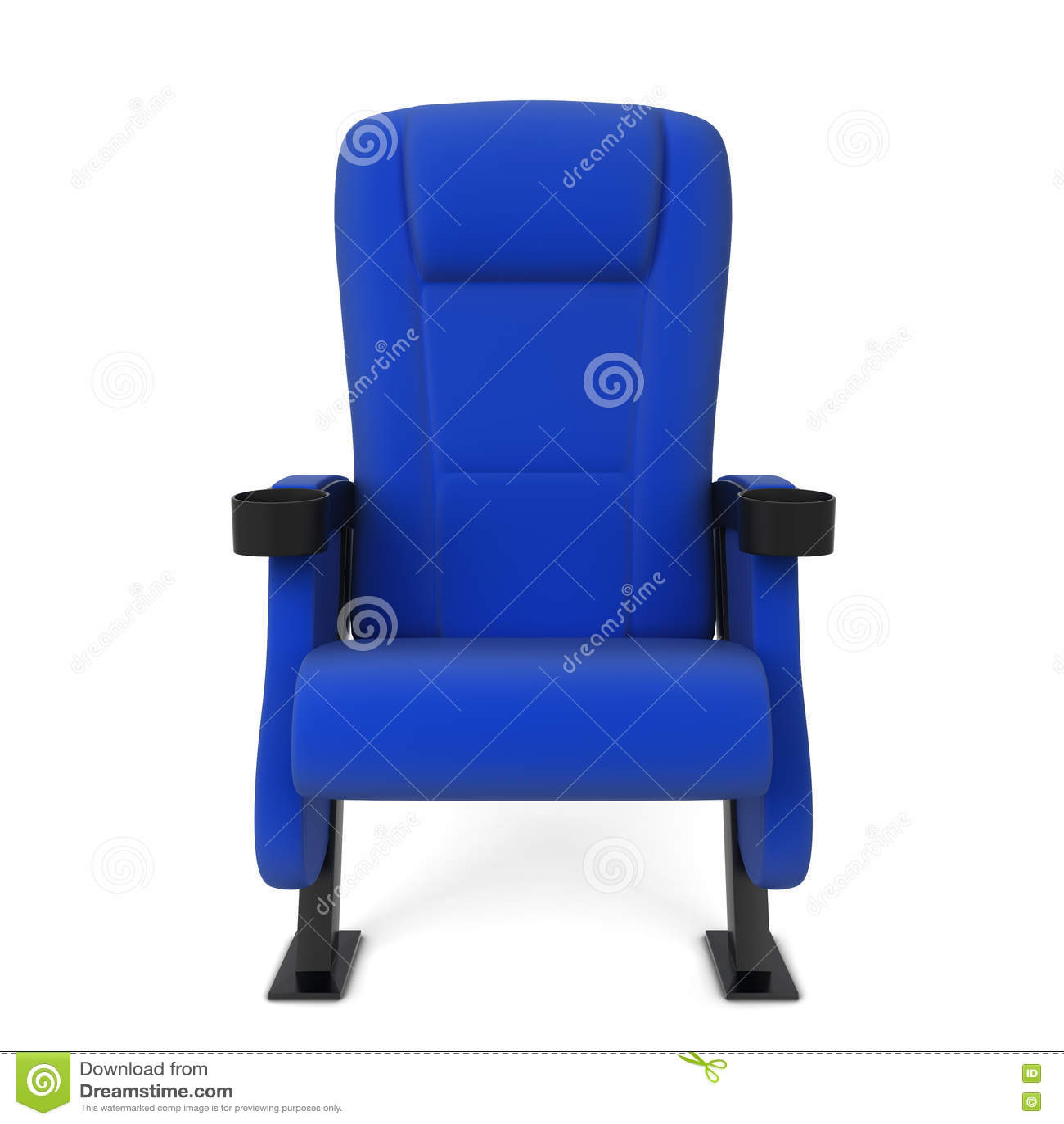 Cinema chair stock illustration  Illustration of armchair - 82210105