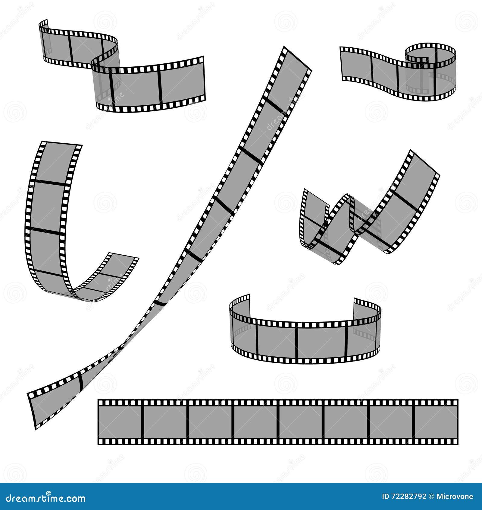 Film roll vector film 35mm slide frame set stock vector cinema film strip roll 35mm blank slide frame vector set stock photography jeuxipadfo Image collections