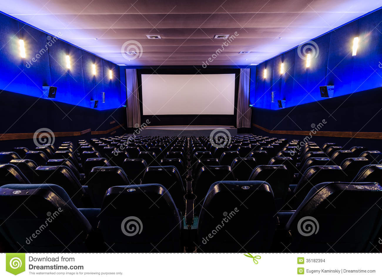 In Cinema Theater Stock Images Image 35182394