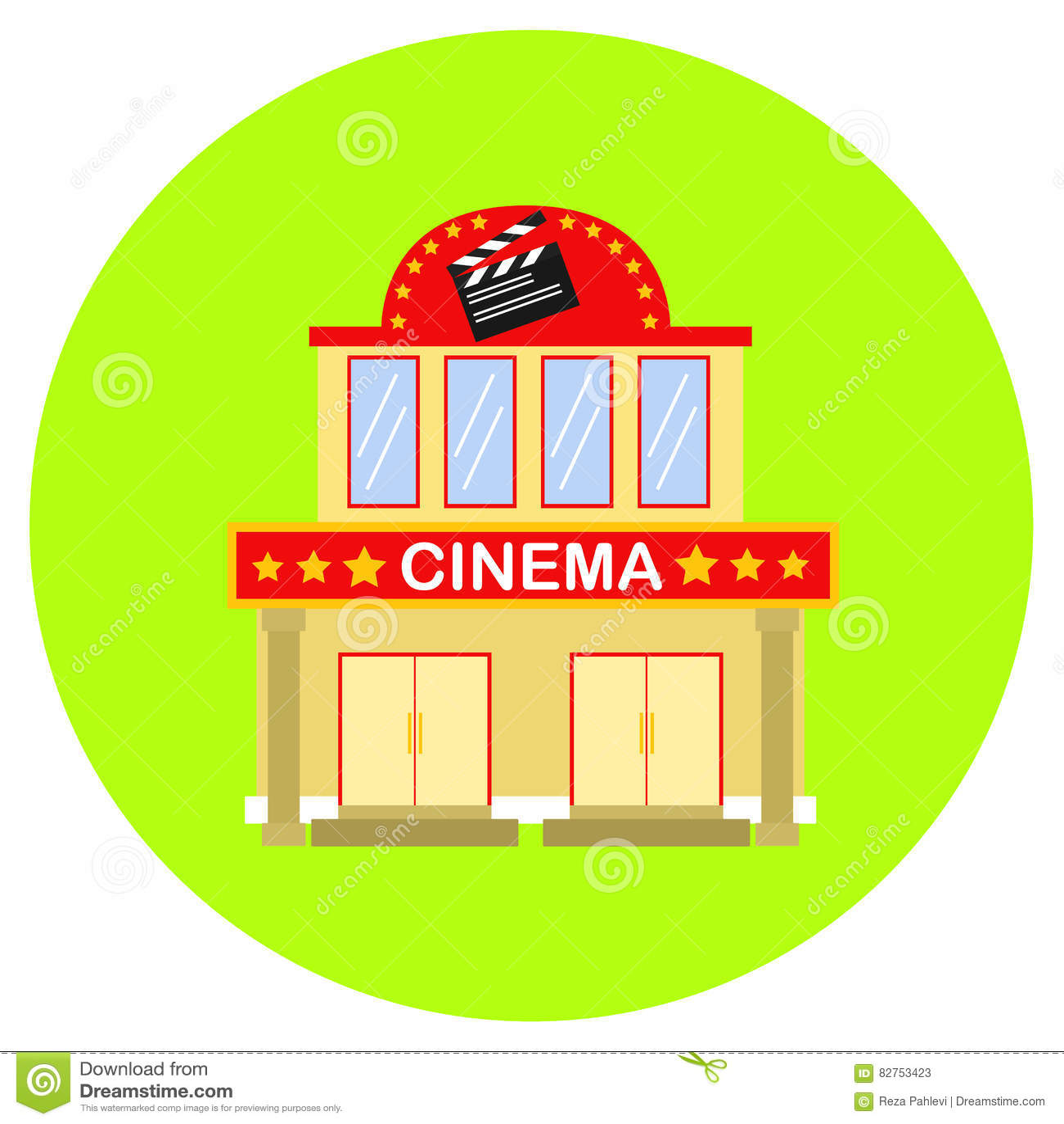 Cinema icon in trendy flat style isolated on grey background cinema icon in trendy flat style isolated on grey background building symbol for your design logo ui vector illustration eps1 biocorpaavc