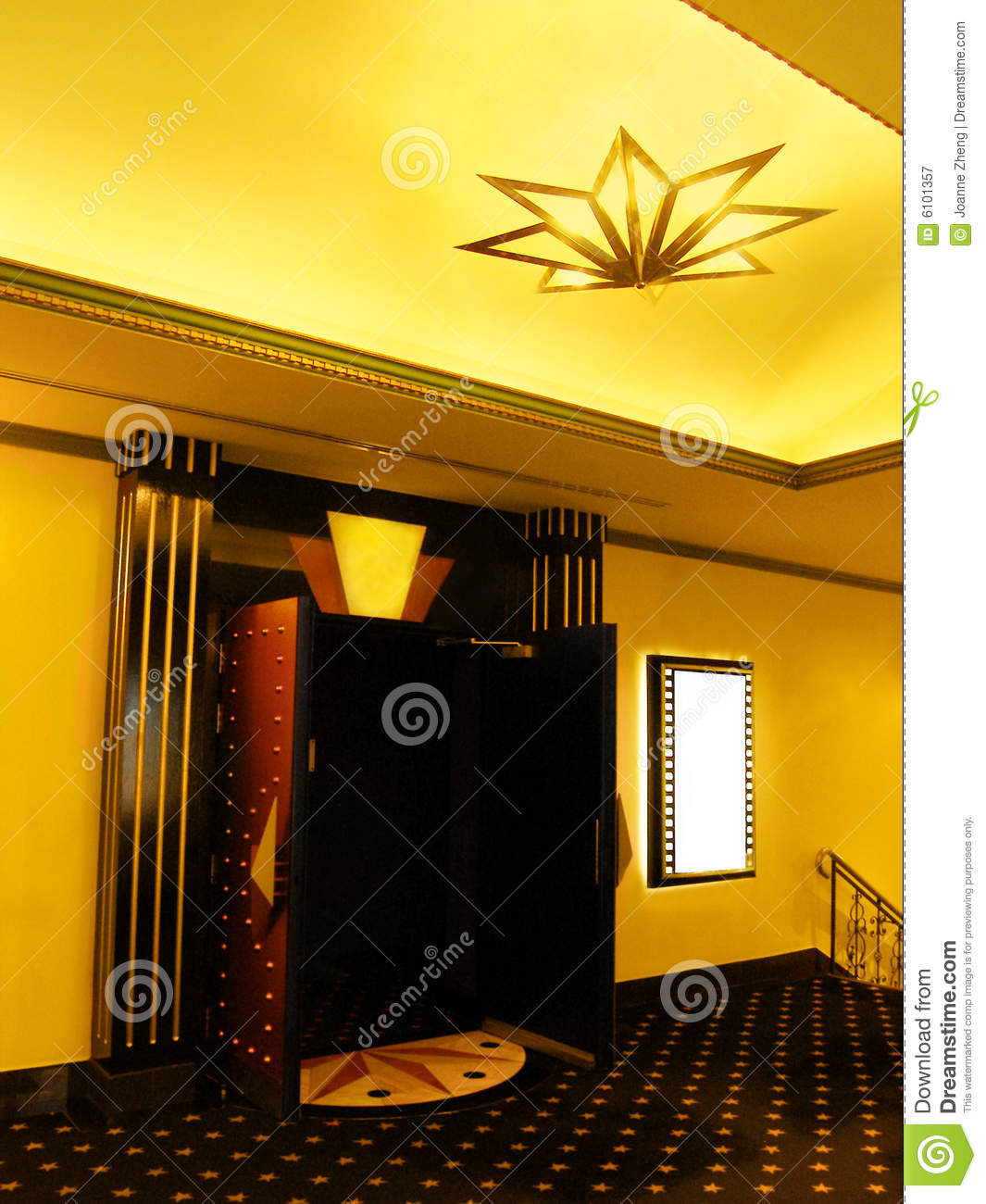 cinema-lobby-6101357 Home Theatre Design Yellow on spaceship panels for, movie theater vs, designs for, most expensive, living room,