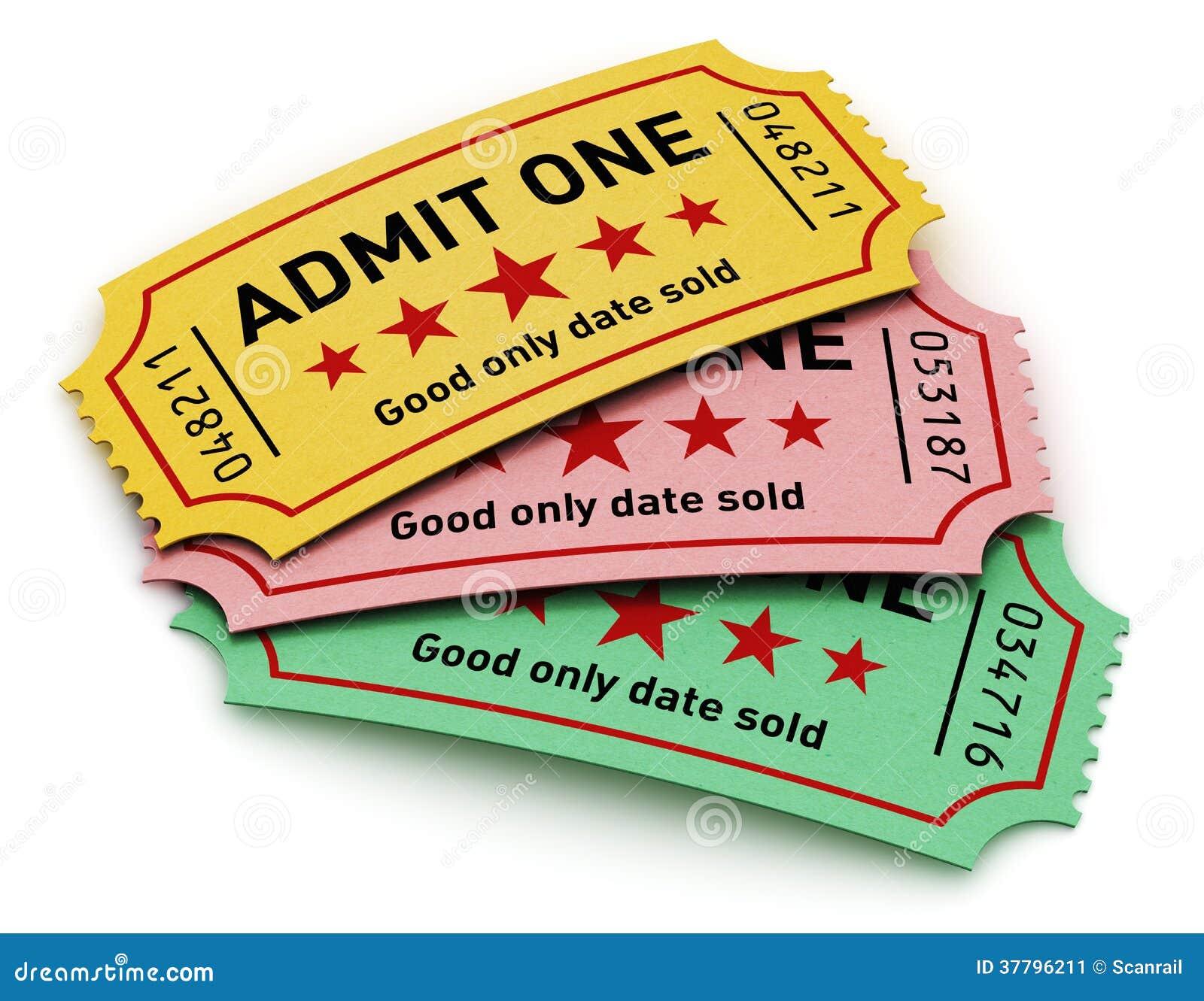 cinema tickets stock illustration illustration of entertainment