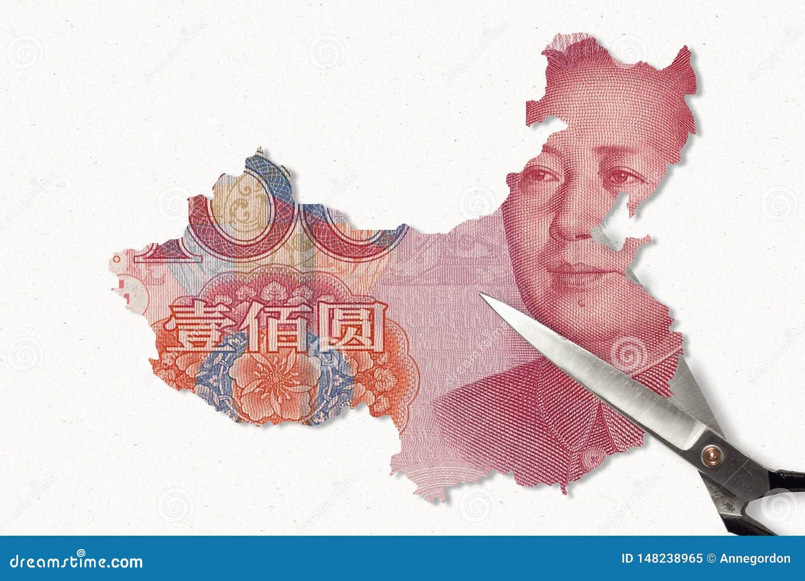 Cinese Yuan Map