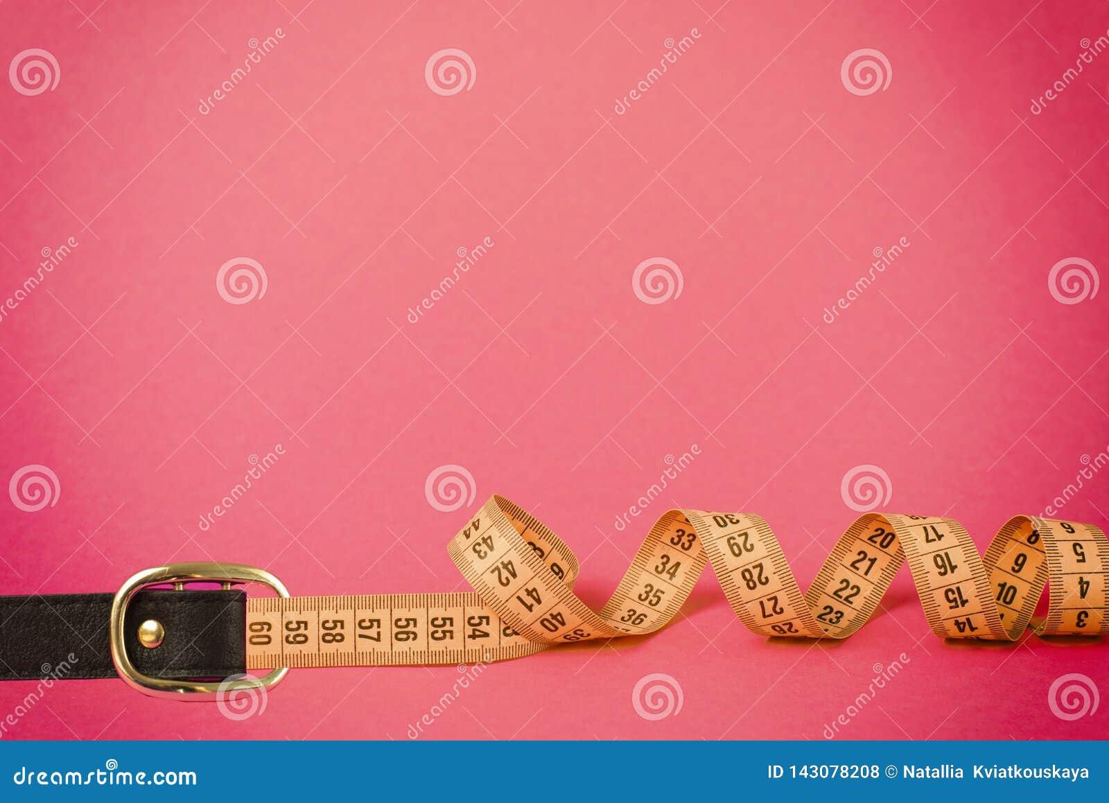 Cinghia del fermaglio di misura di nastro per la misura di giro della vita di perdita di peso