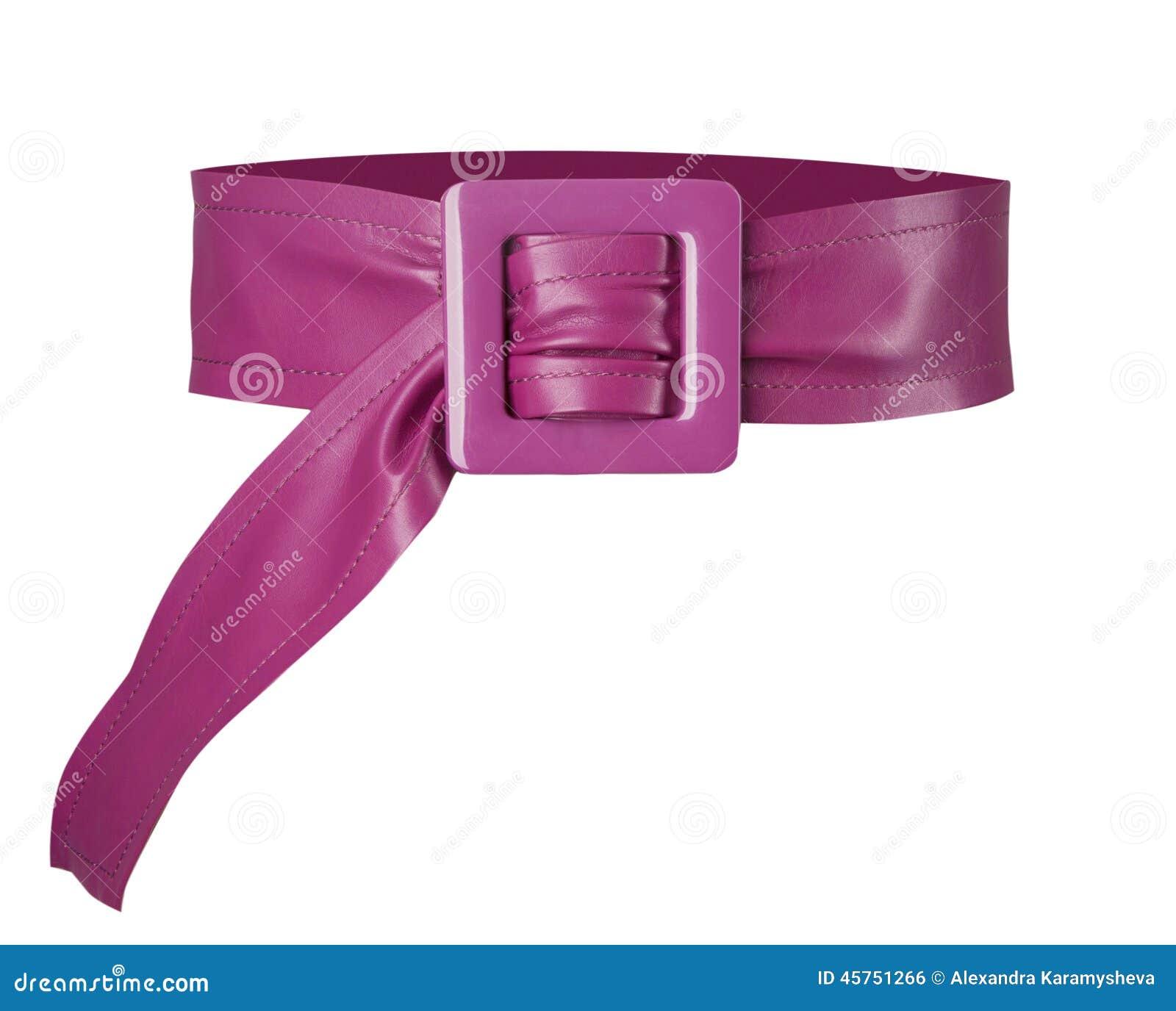 Cinghia rosa isolata