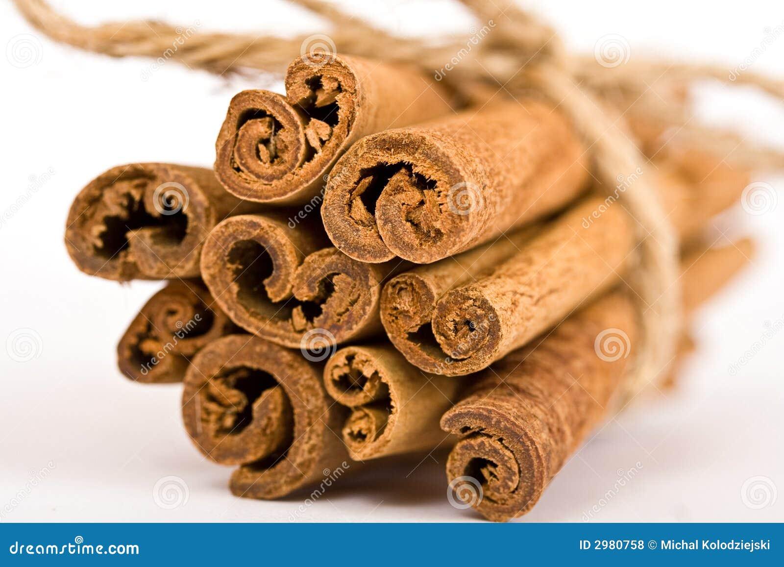 Cinnamon Spicy Sticks Close-up Stock Photo - Image of