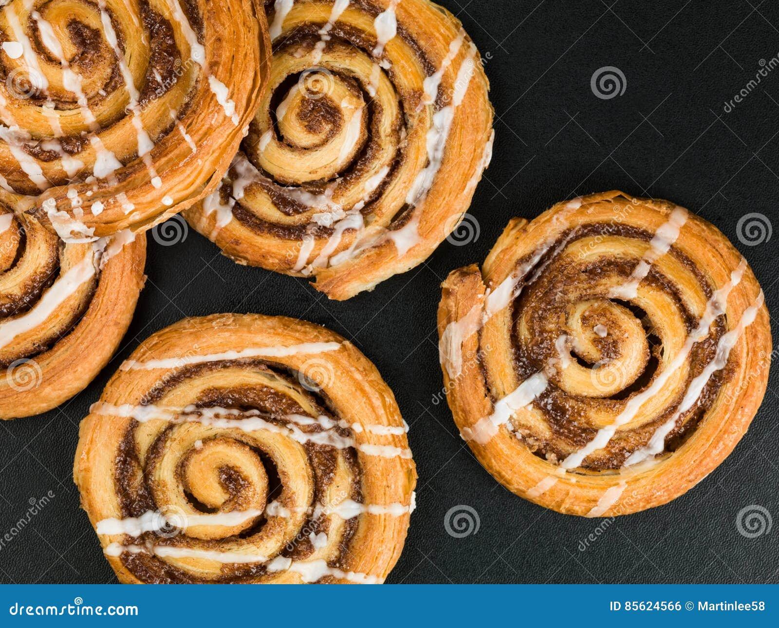 Cinnamon Swirls Danish Breakfast Pastries