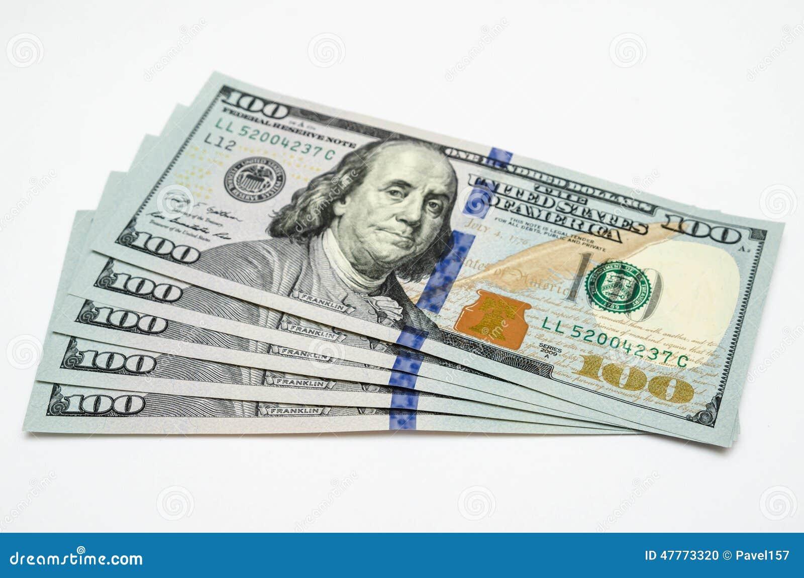 Cinq cents dollars des Etats-Unis
