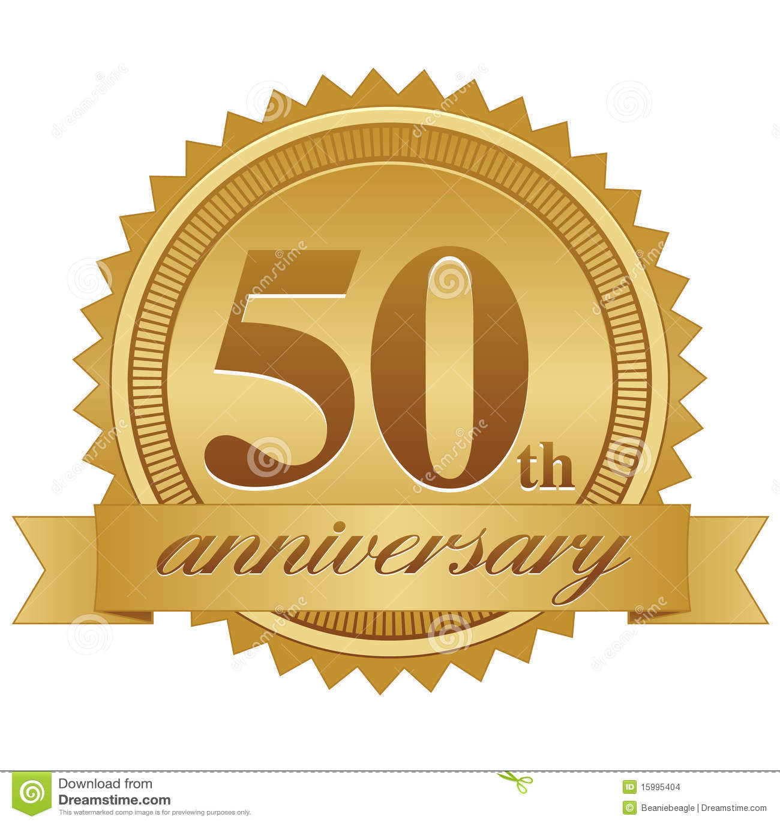 Cinquantième Sceau ENV d anniversaire