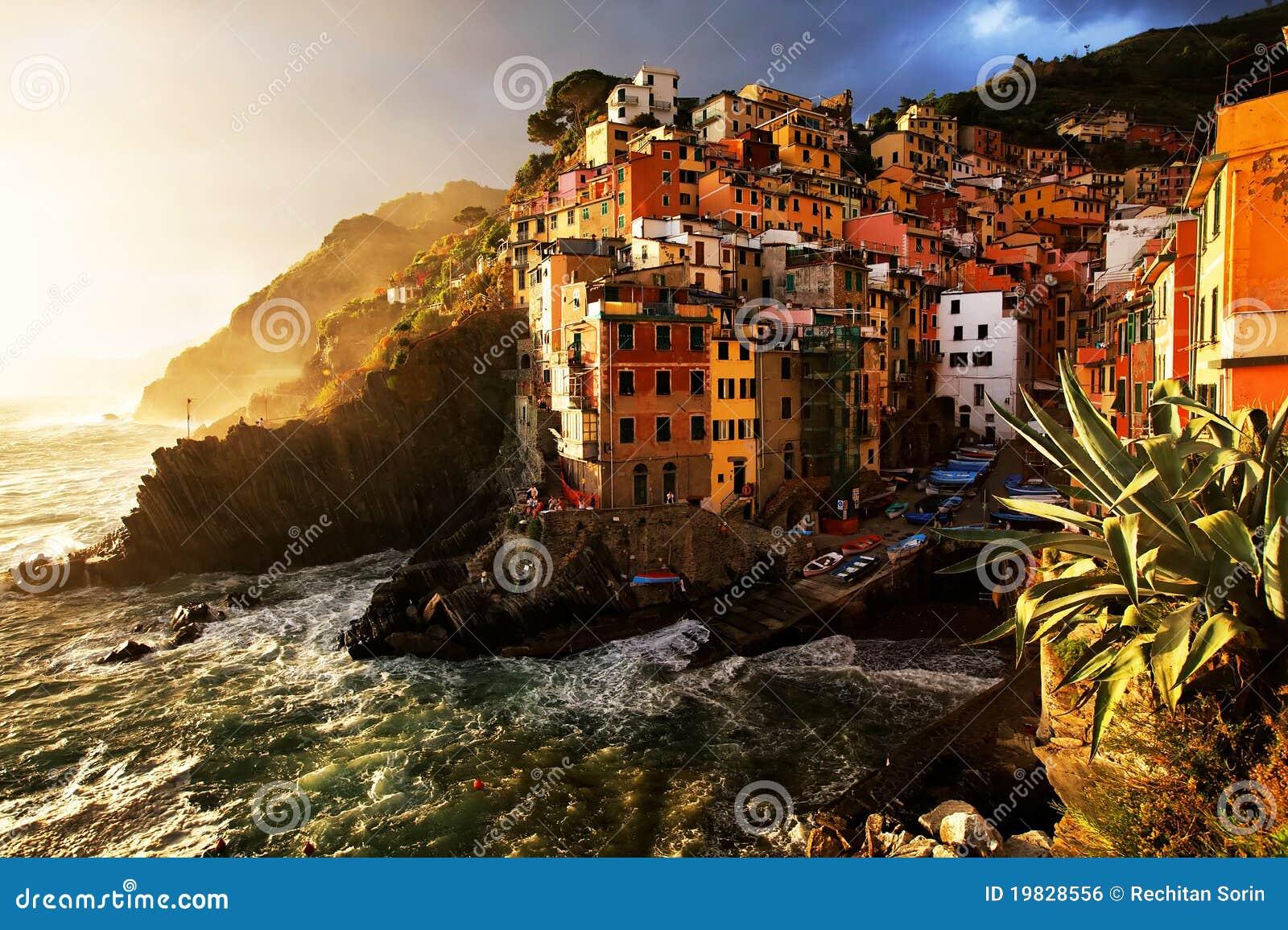 Cinque Italy riomaggiore terre wioska