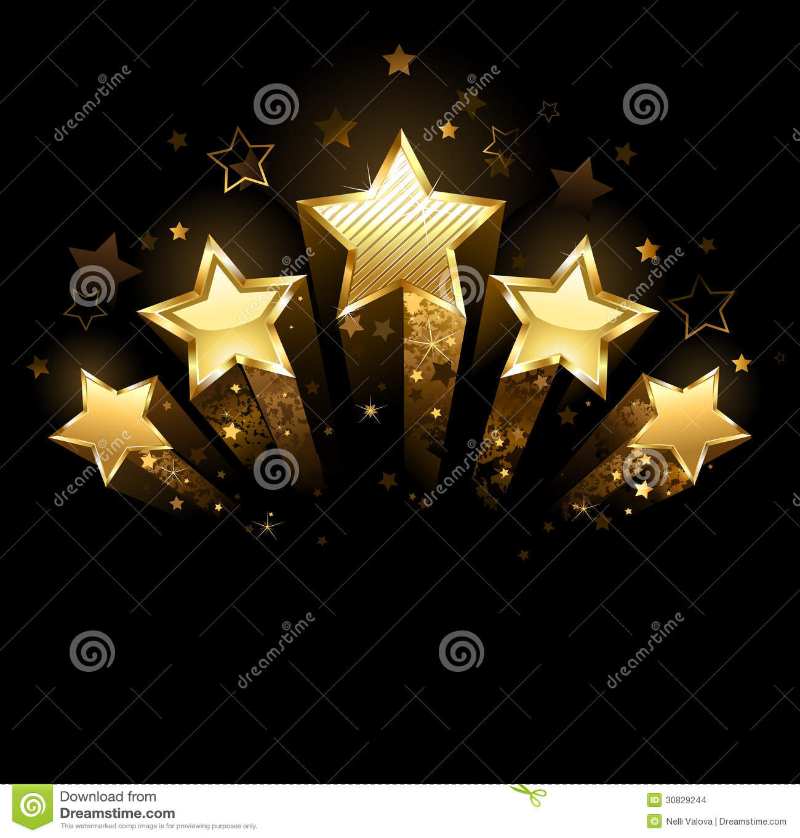 Cinque stelle d oro