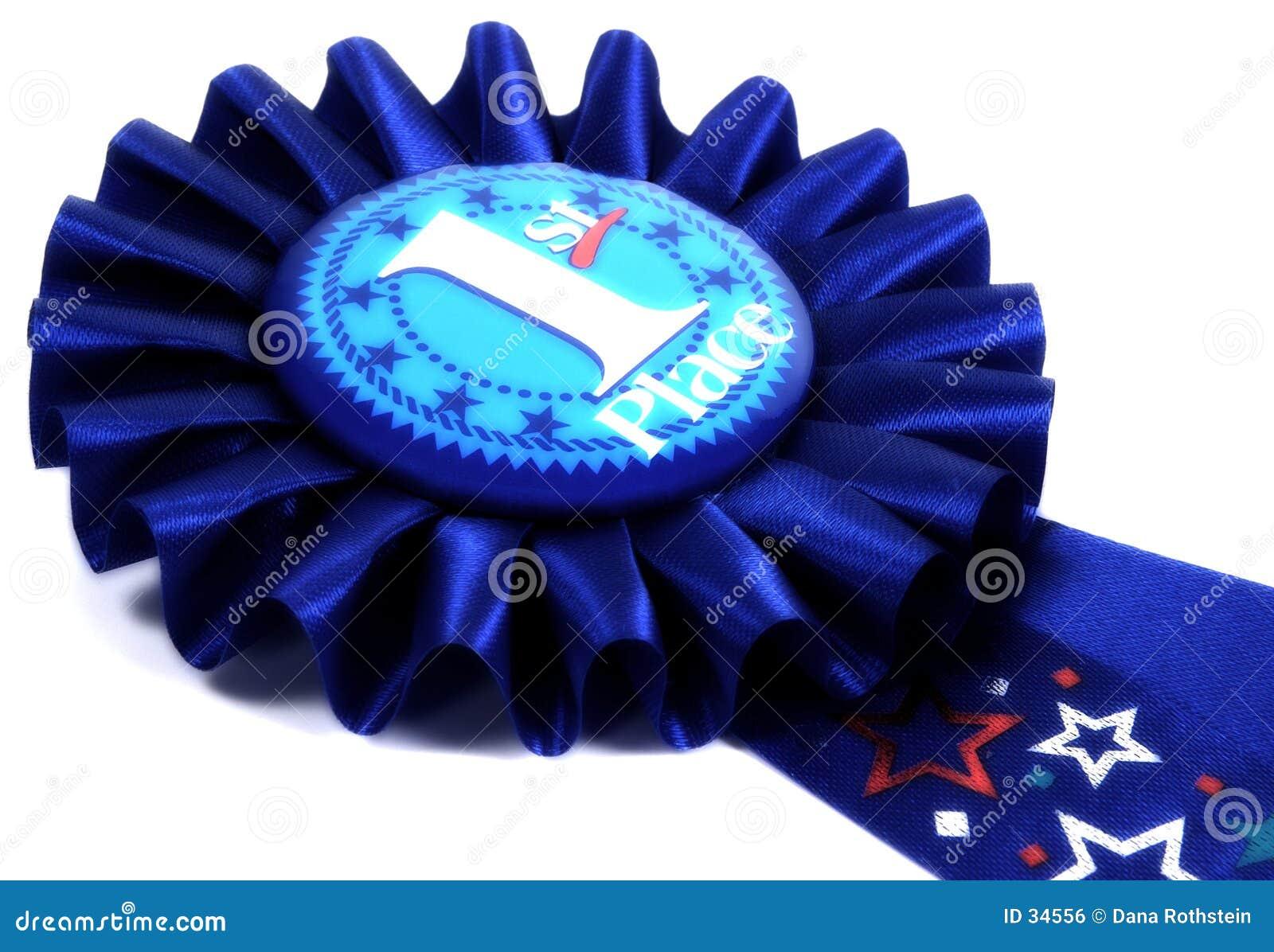 Download Cinta azul foto de archivo. Imagen de lugar, azul, premio - 34556