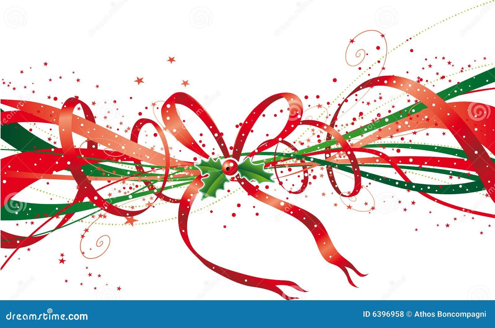 Cinta de la navidad fotos de archivo libres de regal as for Cintas de navidad