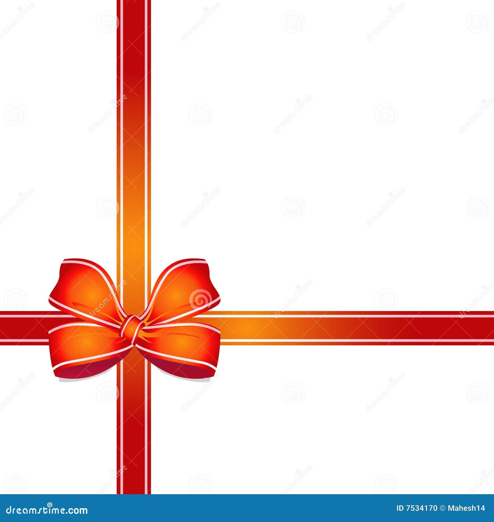 Cinta decorativa del rect ngulo de regalo foto de archivo - Cinta para regalo ...
