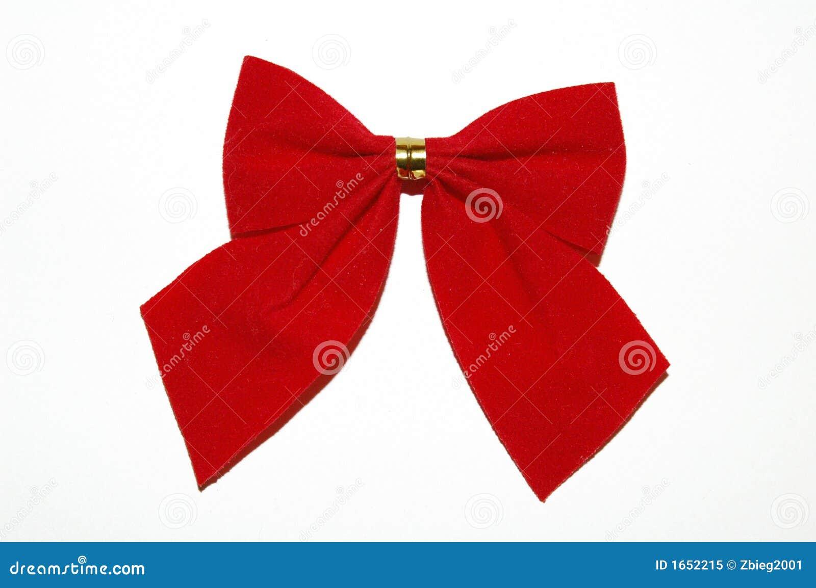 Cinta del rojo de la navidad foto de archivo libre de - Cinta de navidad ...