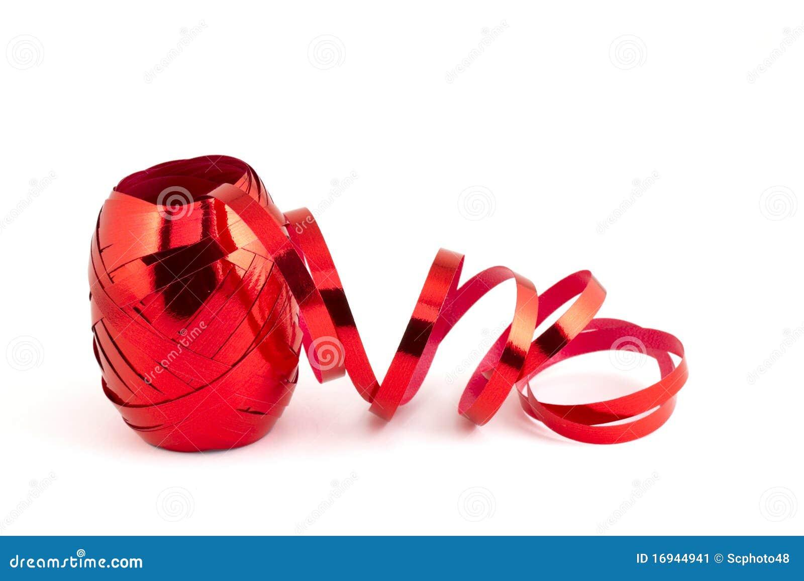 Cinta roja de la hoja