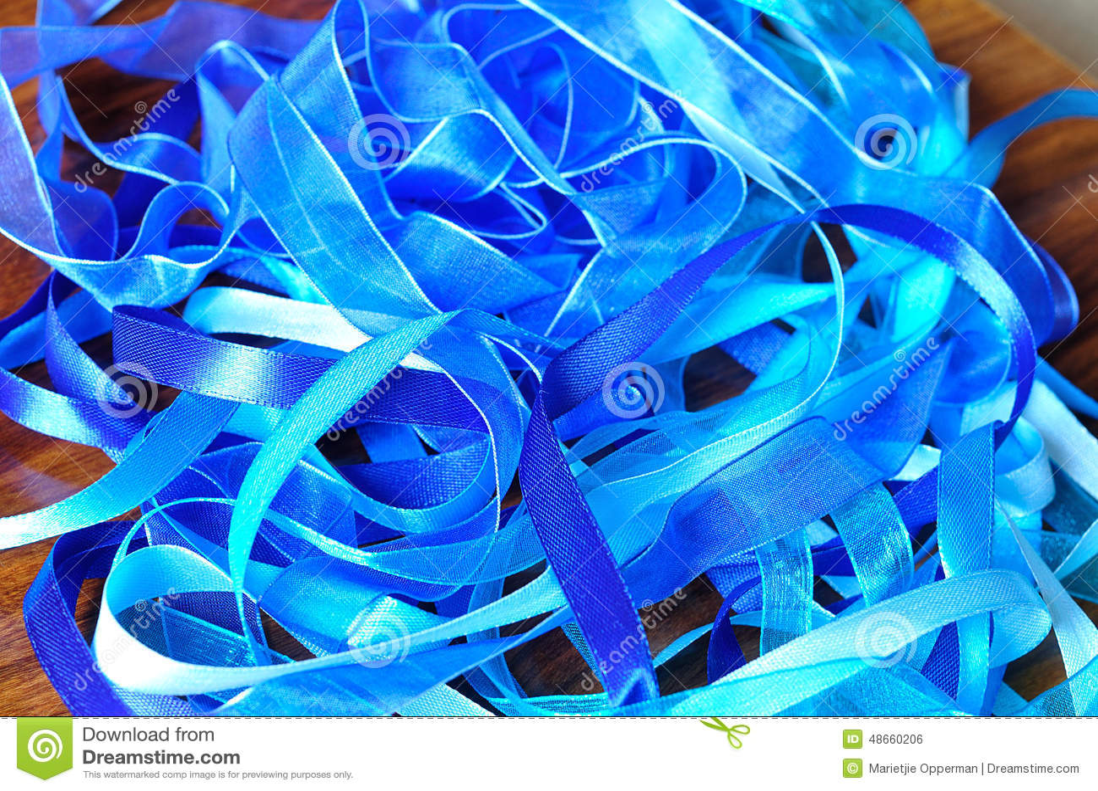 Cintas azules