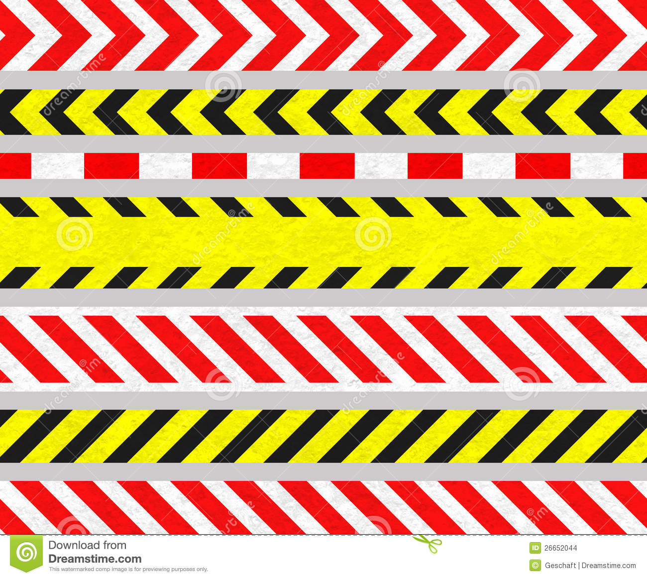 cintas de la precauci u00f3n y se u00f1ales de peligro  rayas Solid Tape Vector Caution Tape Frame
