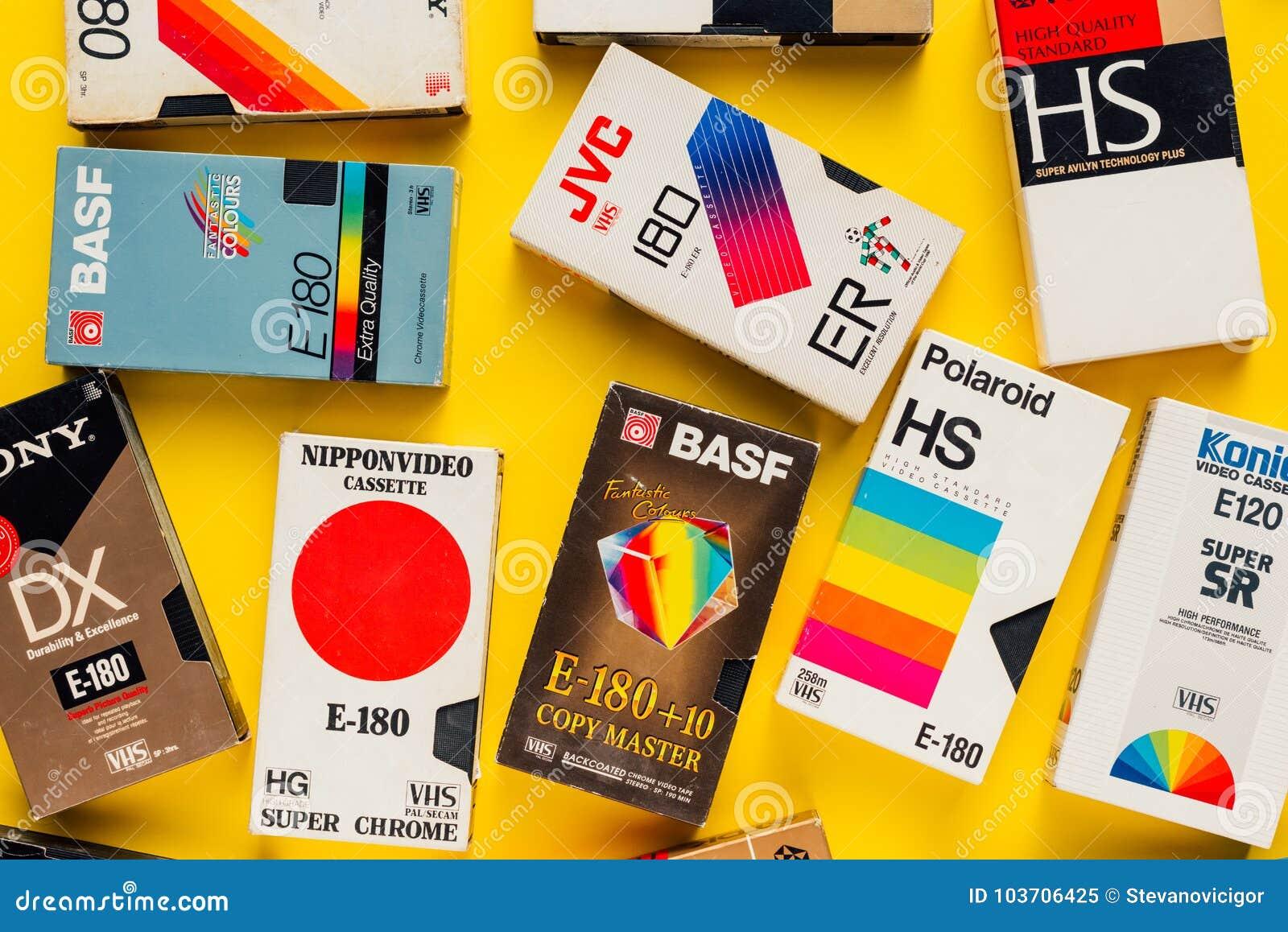 eeee1adf8 Cintas De Video De VHS