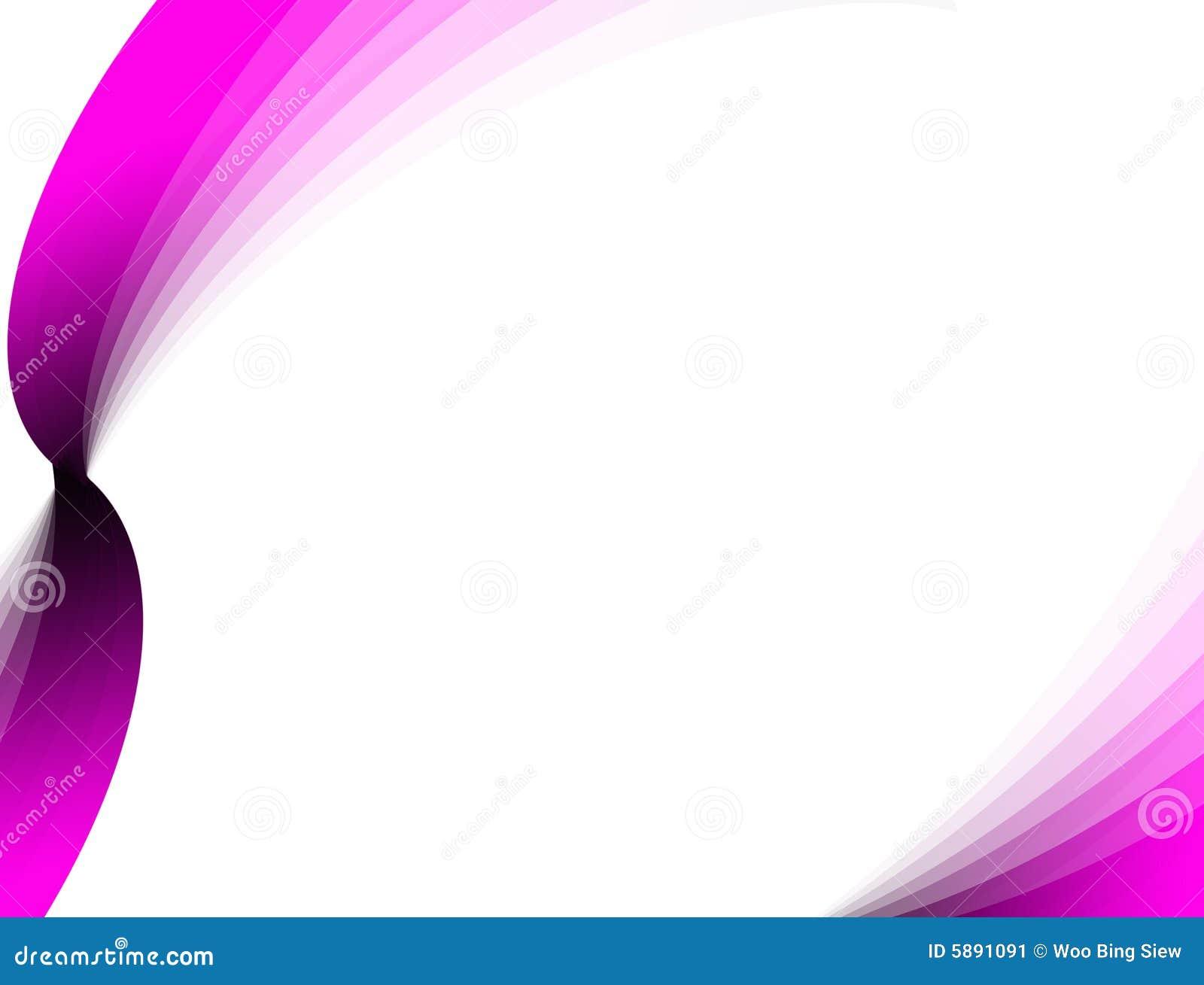 Cintas rosadas abstractas