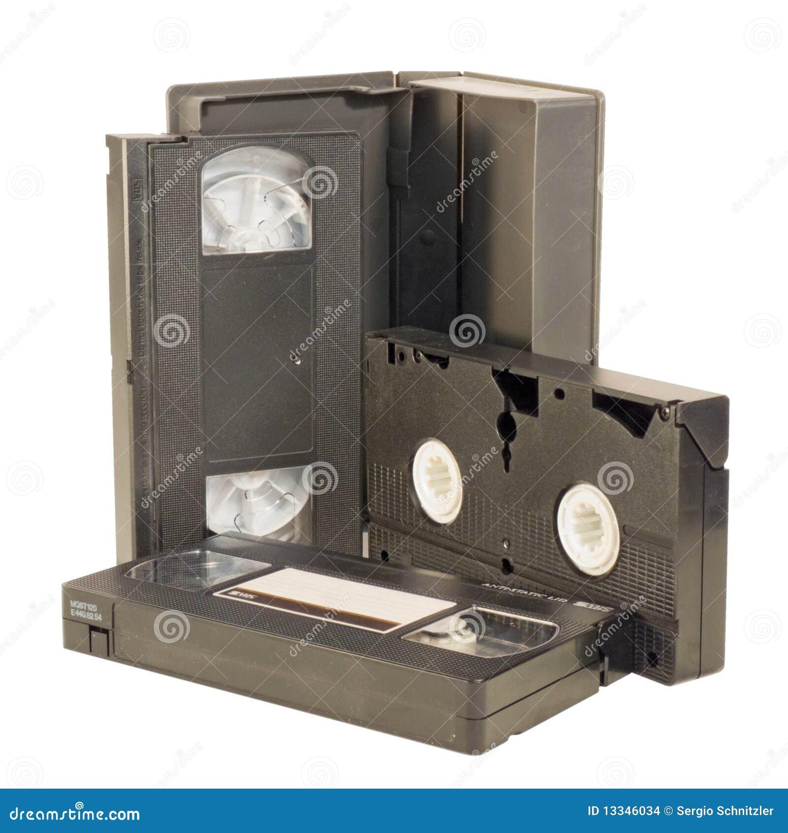 Cintas video del VHS