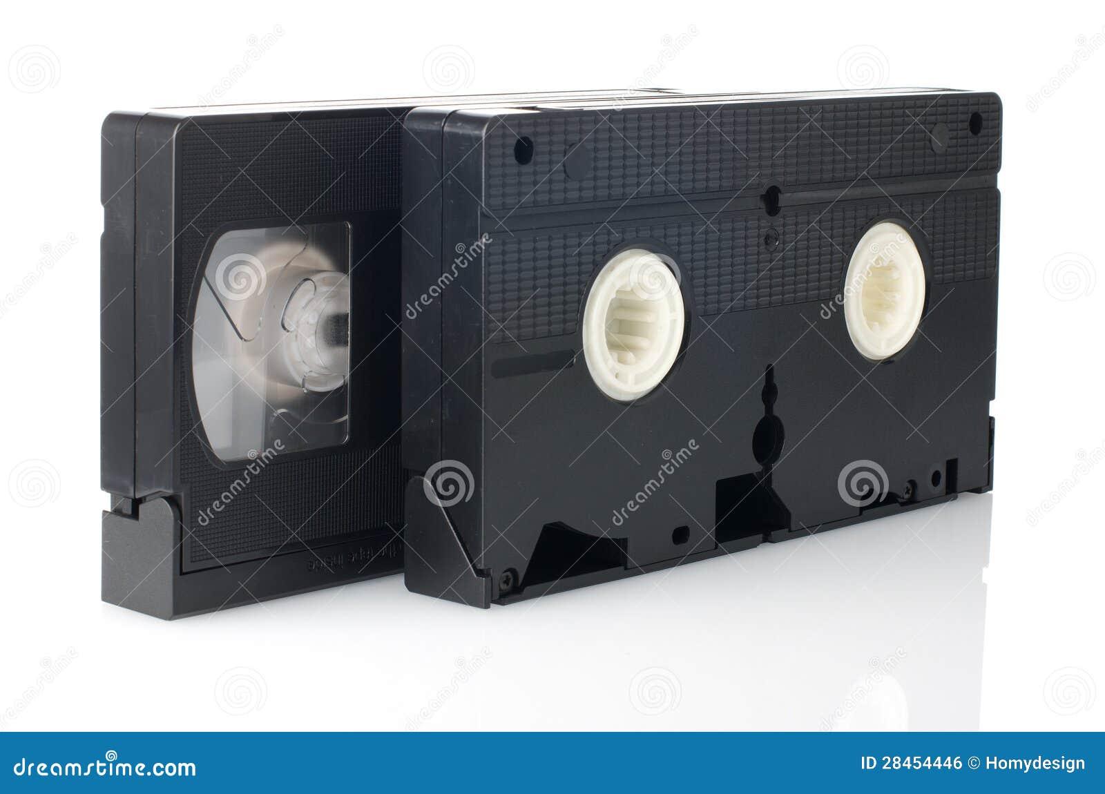 26f5ef52b Cintas video viejas de VHS en el fondo blanco. Imágenes stock más similares