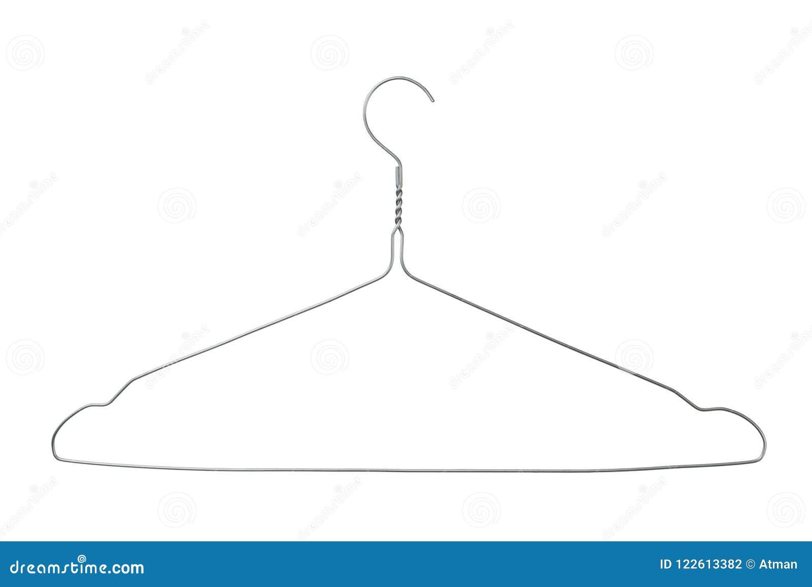 Cintre de manteau de fil