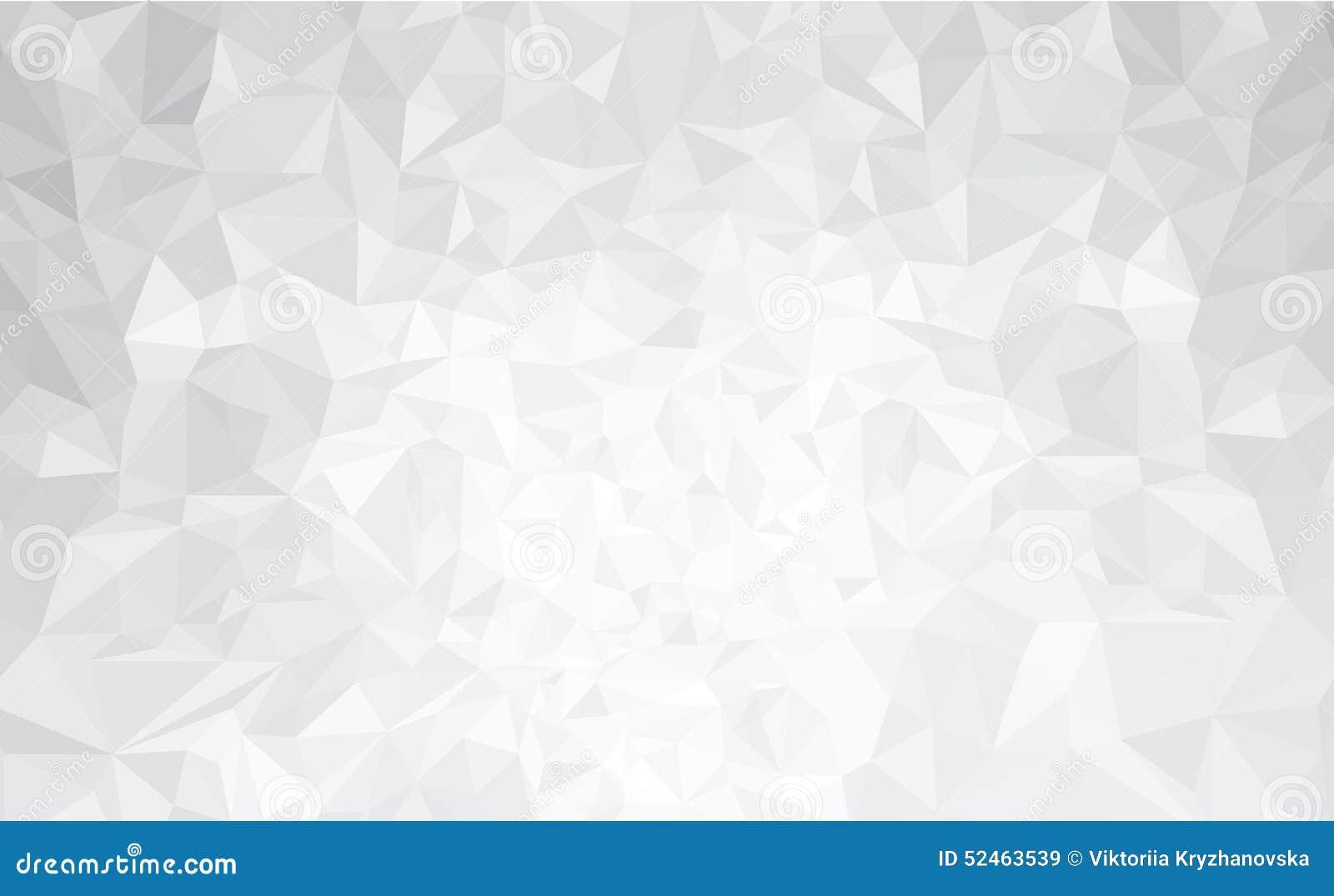 Cinza abstrato do vetor, fundo dos triângulos