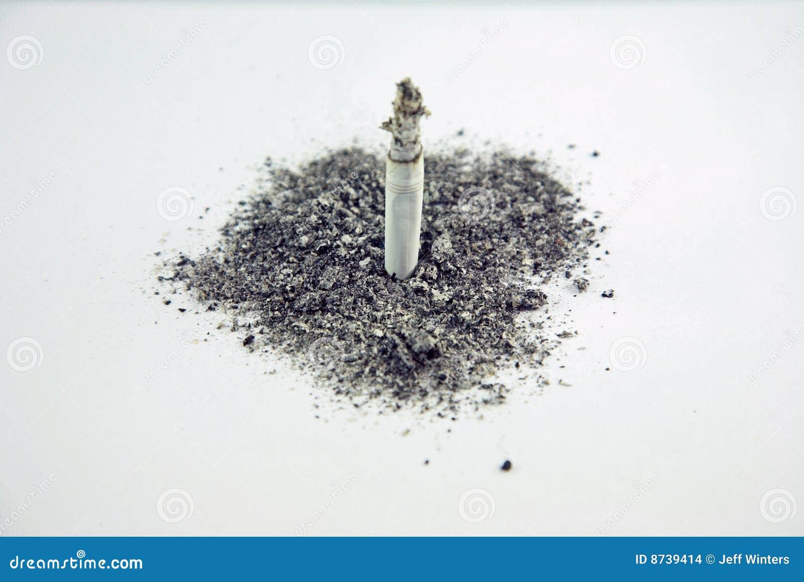 Cinzas de fumo