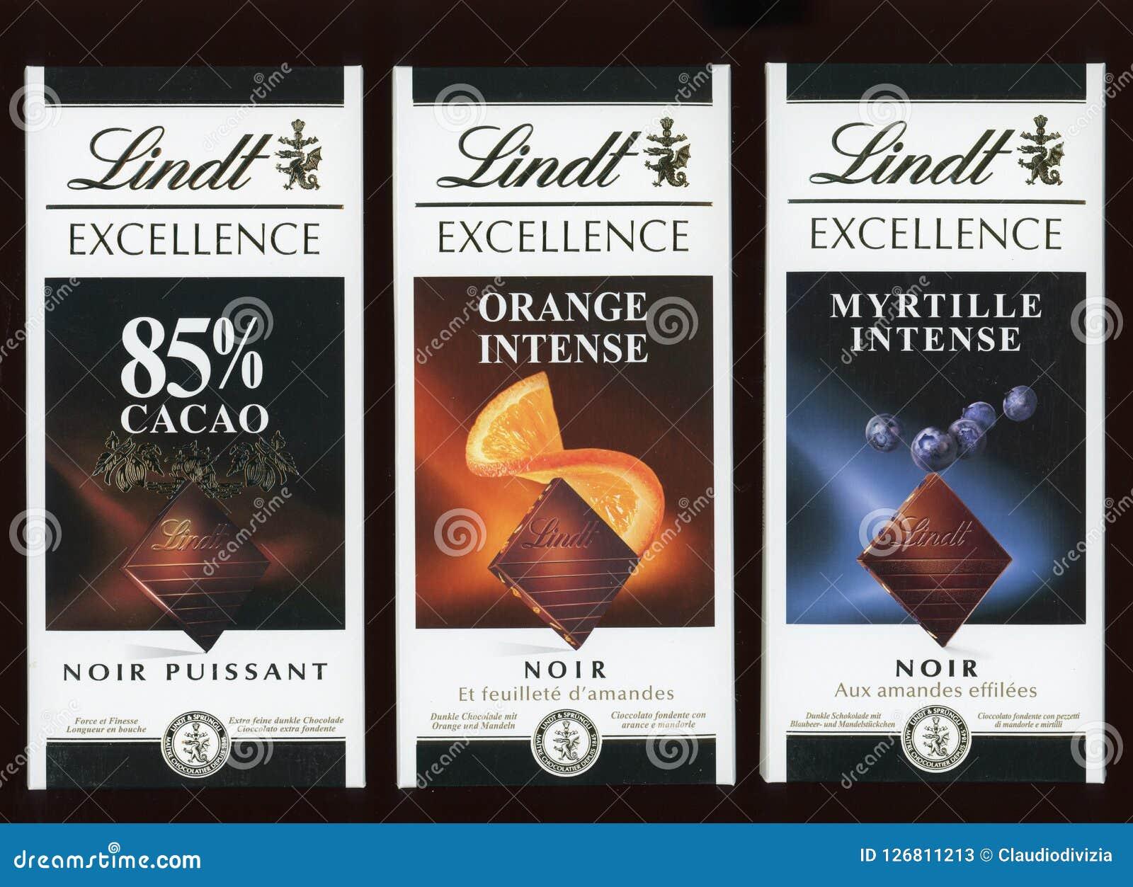 Cioccolato fondente di Lindt