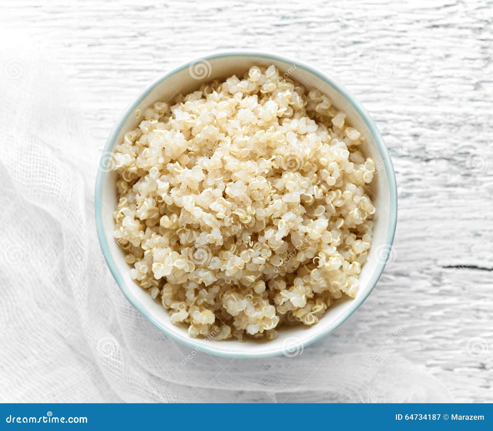 Ciotola di quinoa bollita