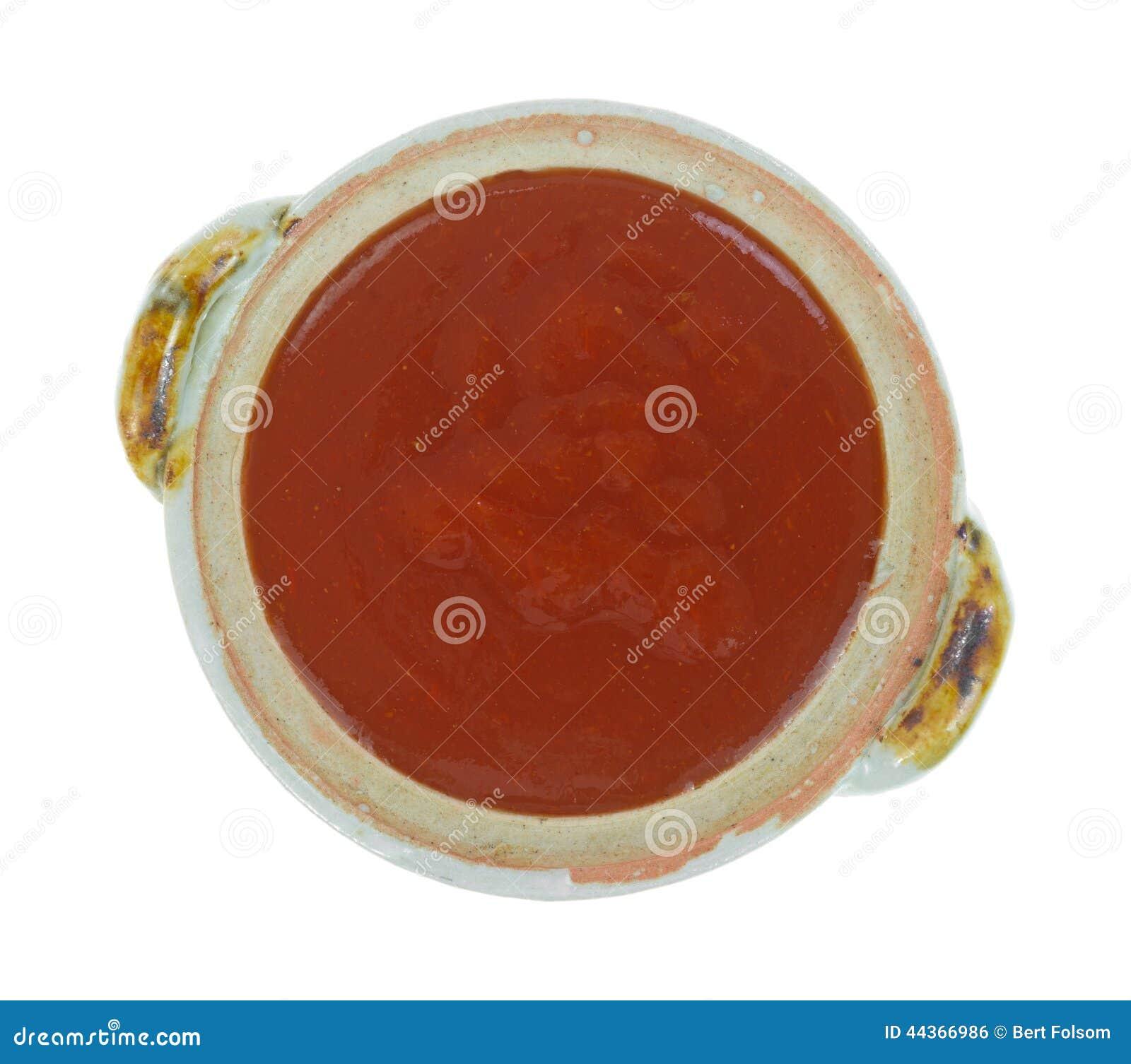 Ciotola di salsa di taco