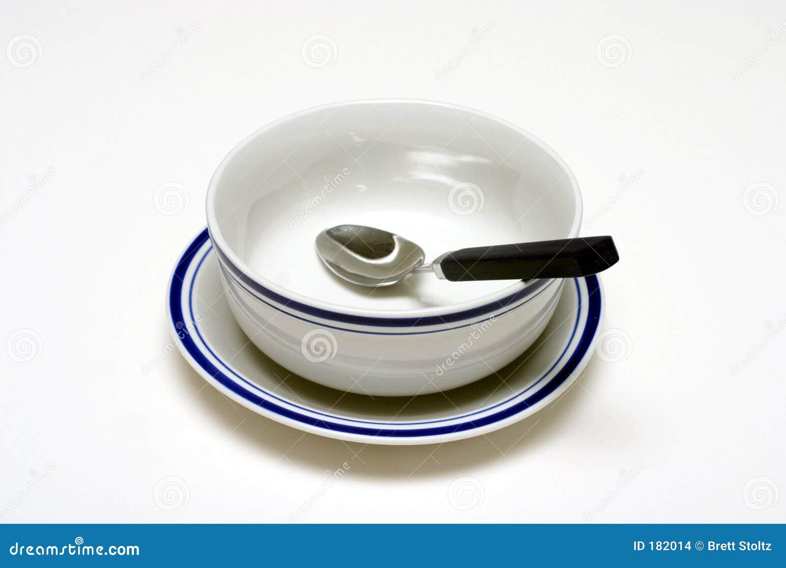 Ciotola e cucchiaio
