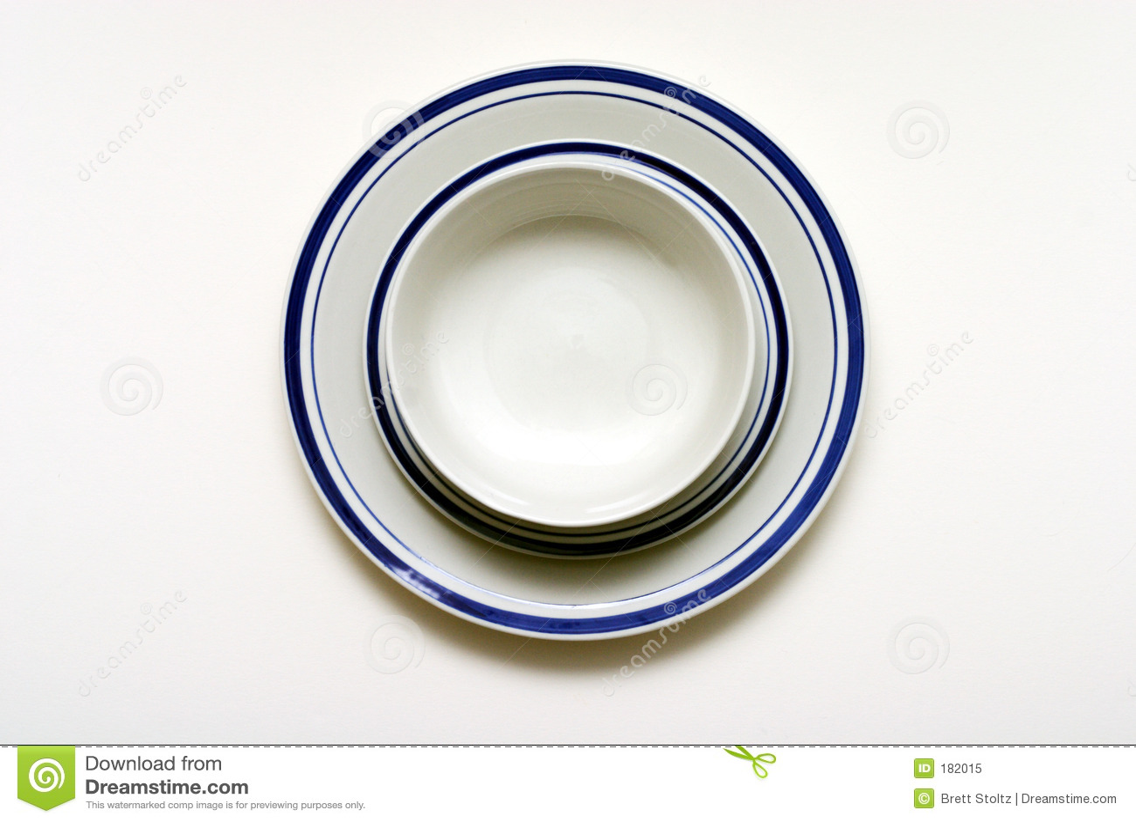 Ciotola, piattino e zolla