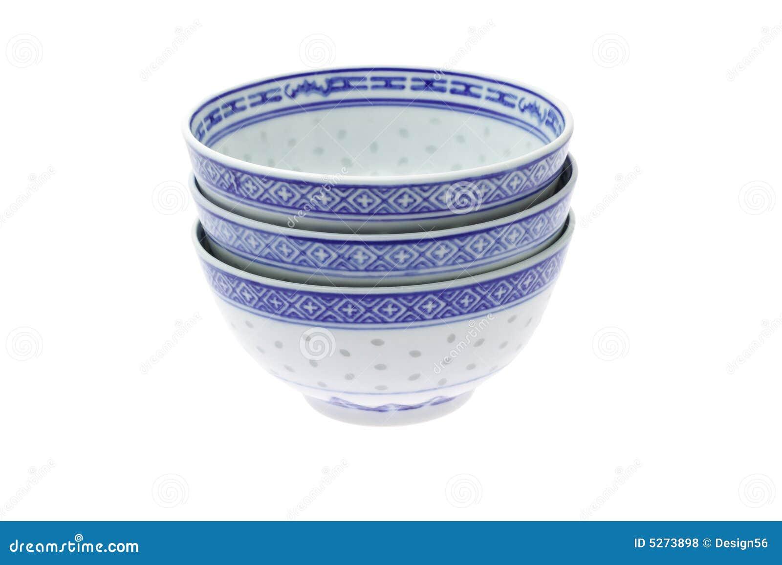 Ciotole di riso tradizionali cinesi fotografia stock for Oggetti tradizionali cinesi