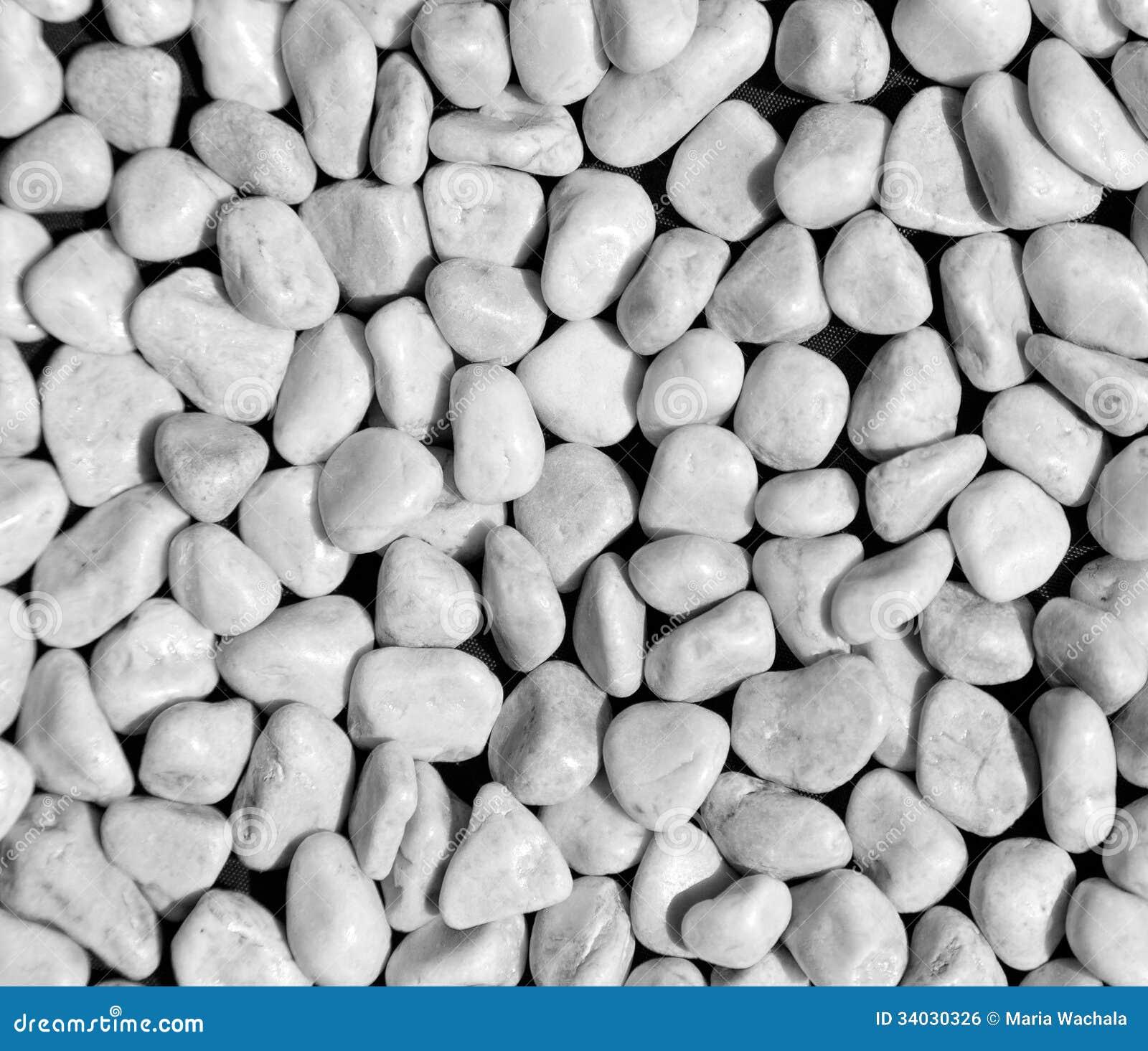 ciottoli bianchi fotografia stock immagine di modello