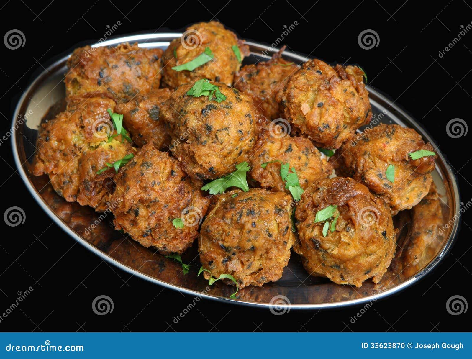 Cipolla indiana Bhajis