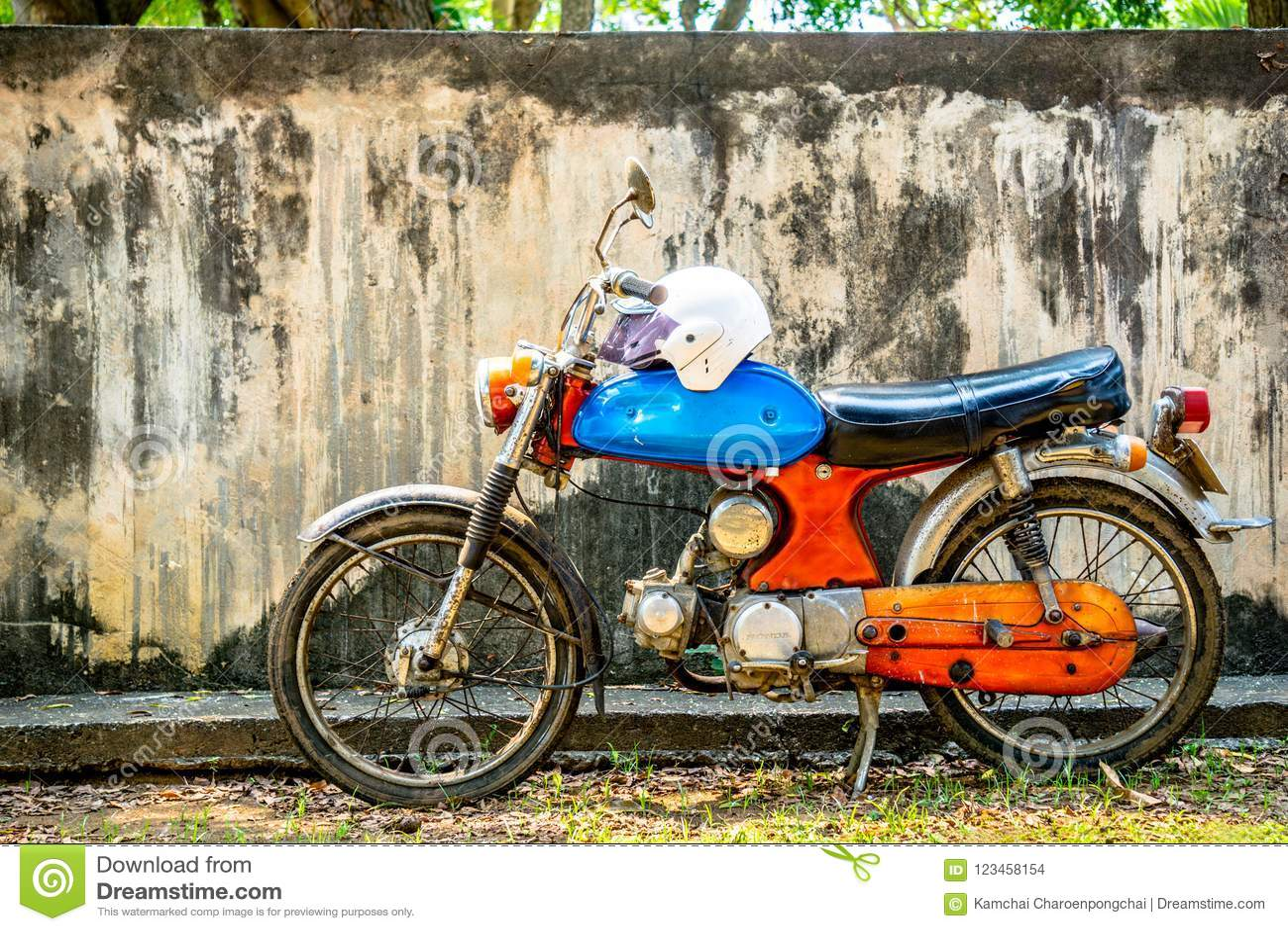 Circa Mid 1960 Colourful Classic And Vintage Honda ...