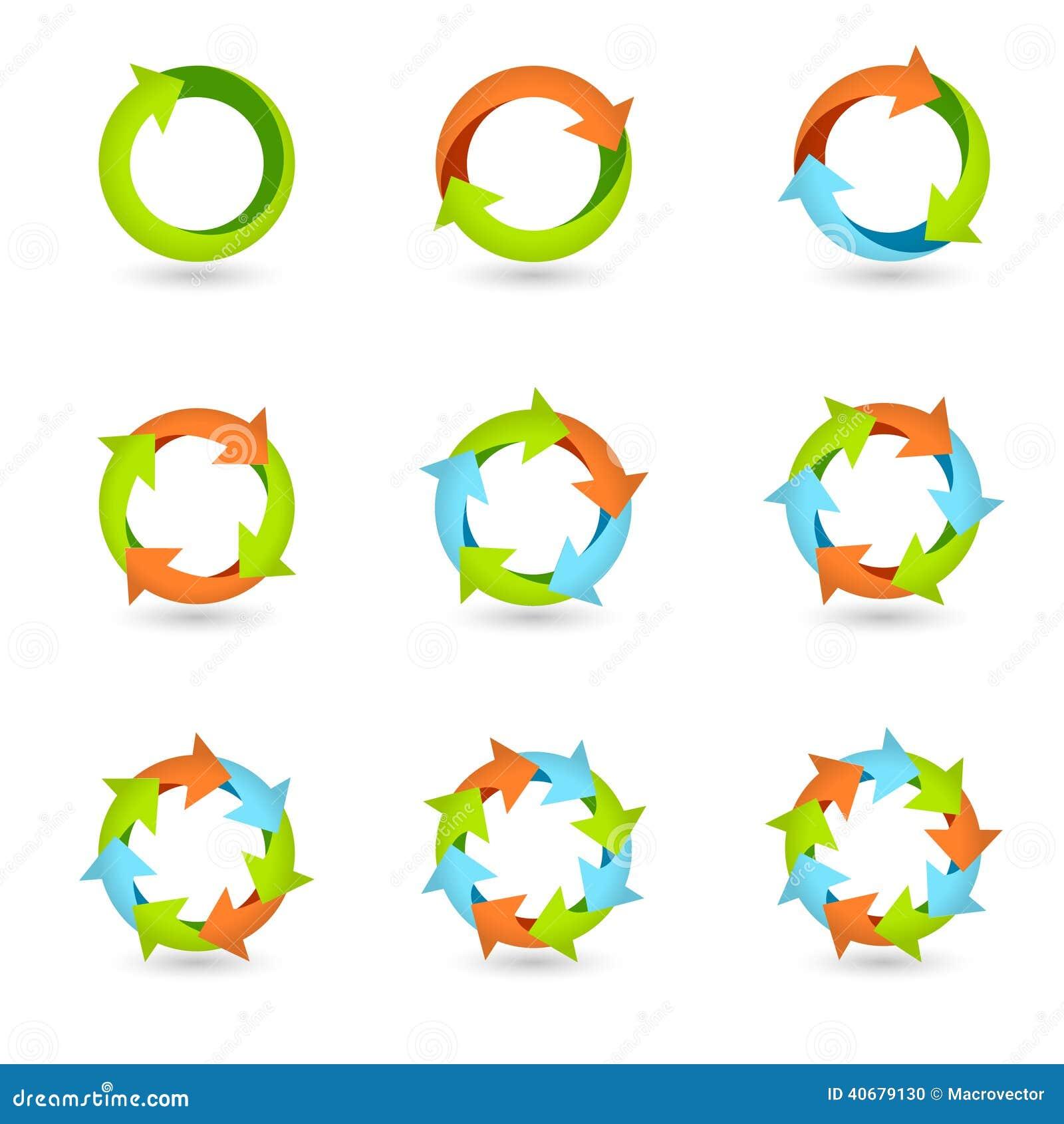 Circle Process Clipart