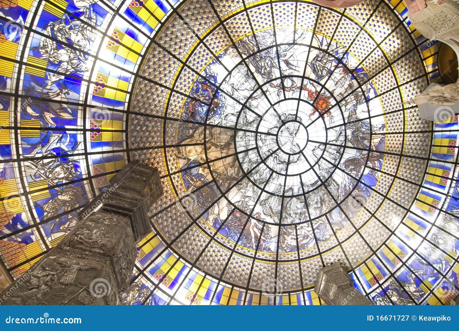 Circle Art Interior Design Stock Image Image Of Modern